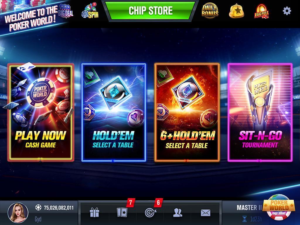 Poker World Mega Billions 2.052.2.052 Screenshot 2