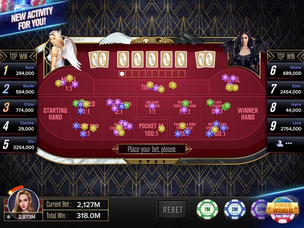 Poker World Mega Billions 2.052.2.052 Screenshot 3