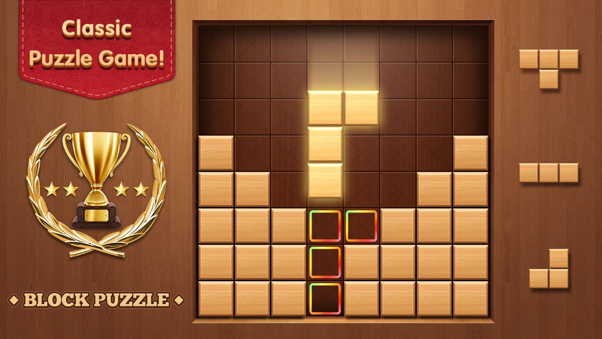 WoodBlockLegend-ClassicPuzzleGame 1.1.2 Screenshot 1