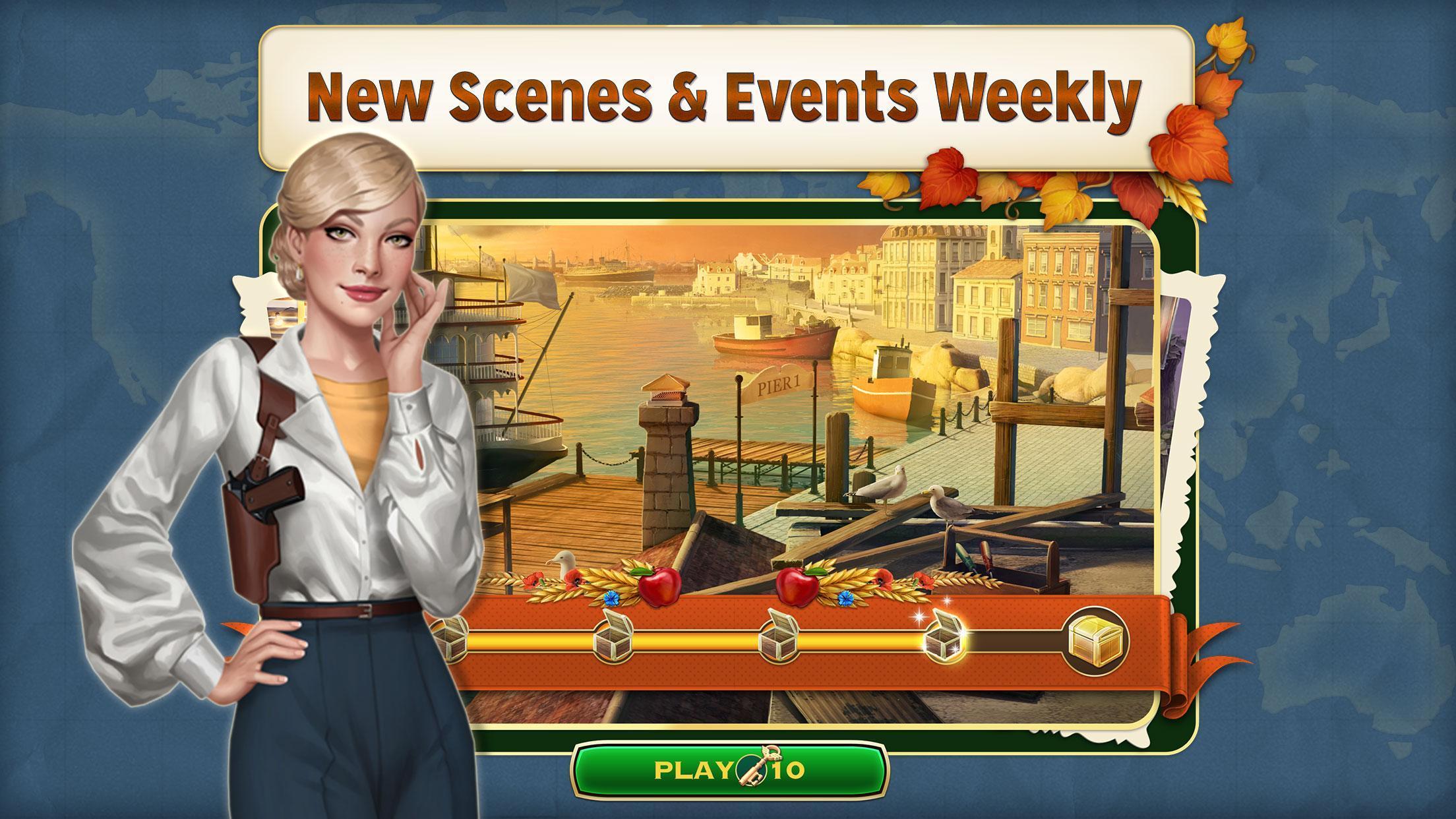 Pearl's Peril - Hidden Object Game 5.07.2984 Screenshot 5