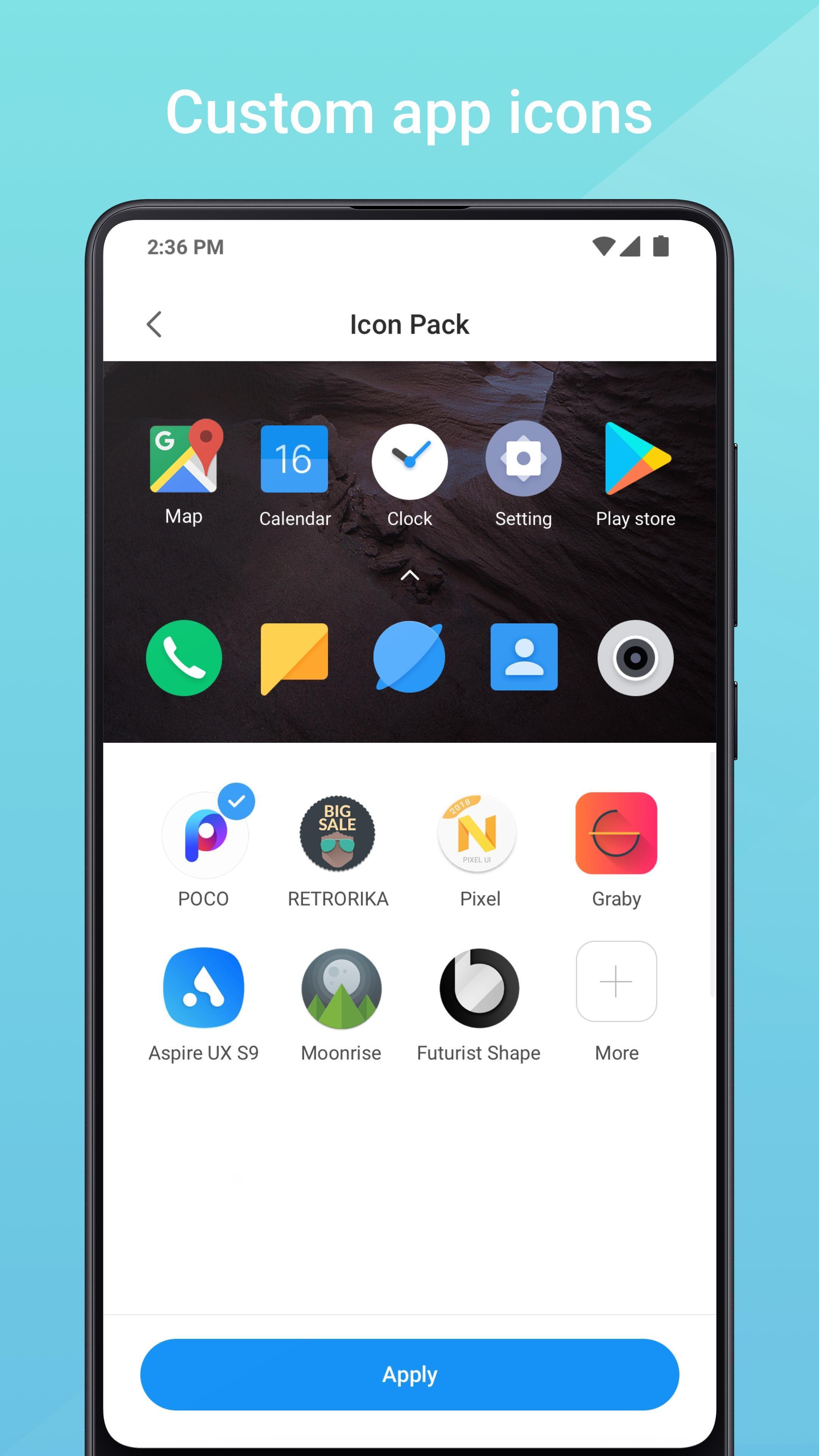 Mint Launcher 1.1.3.0 Screenshot 2