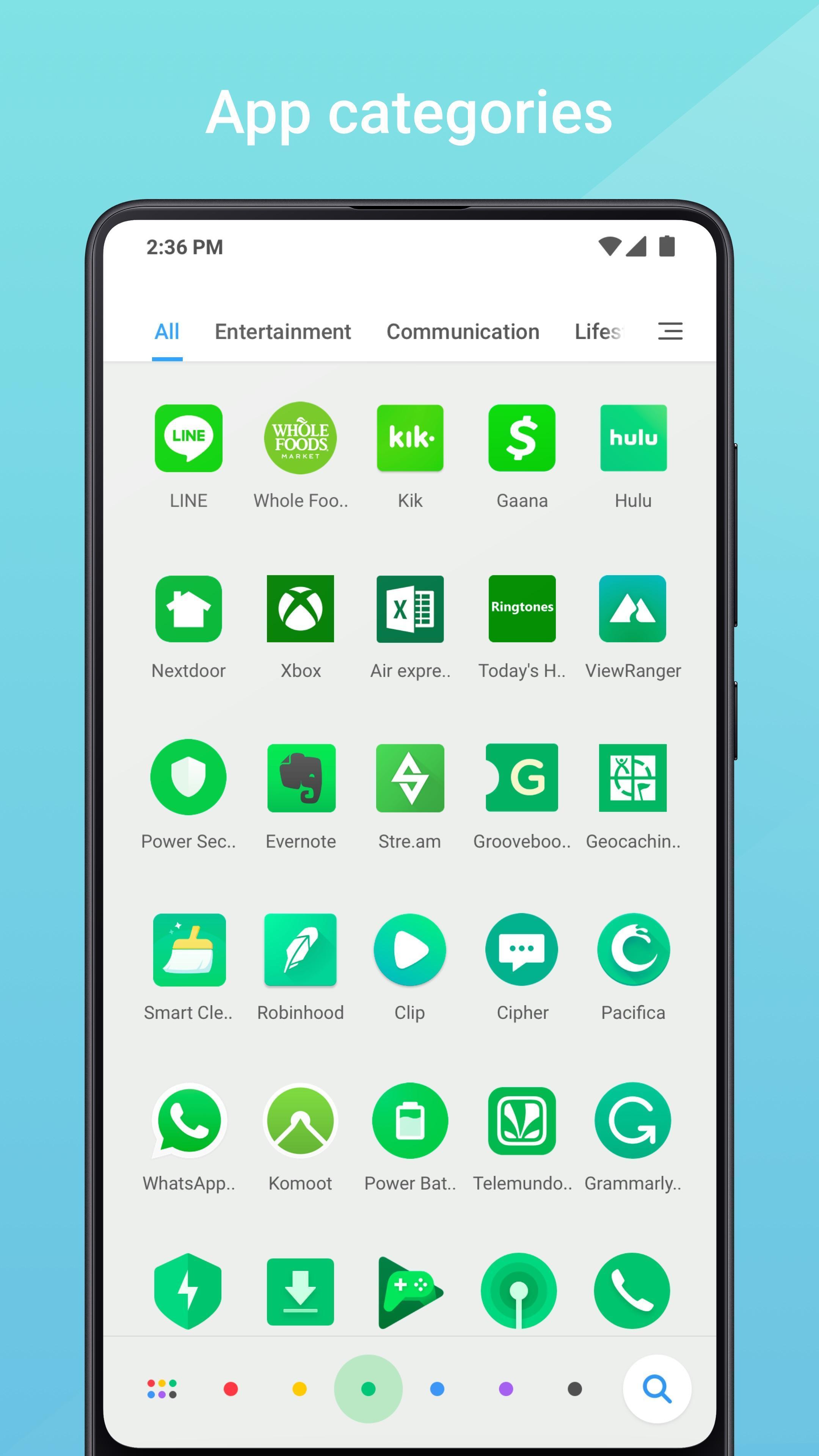 Mint Launcher 1.1.3.0 Screenshot 4