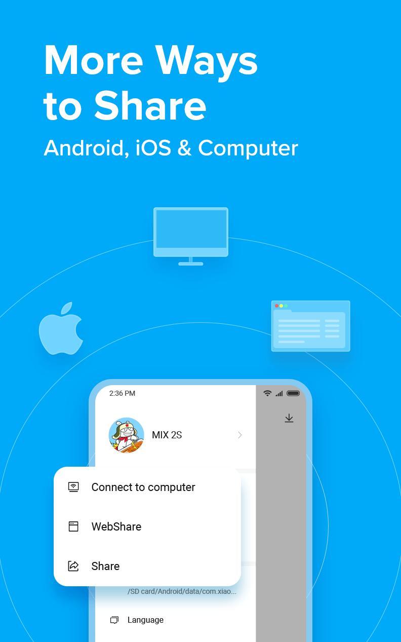 ShareMe 1 file sharing & data transfer app 1.28.27 Screenshot 6