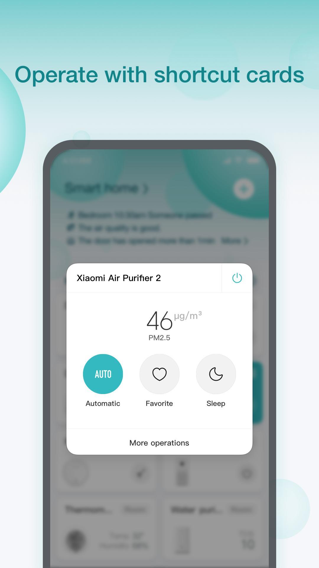 Mi Home 5.5.48 Screenshot 2
