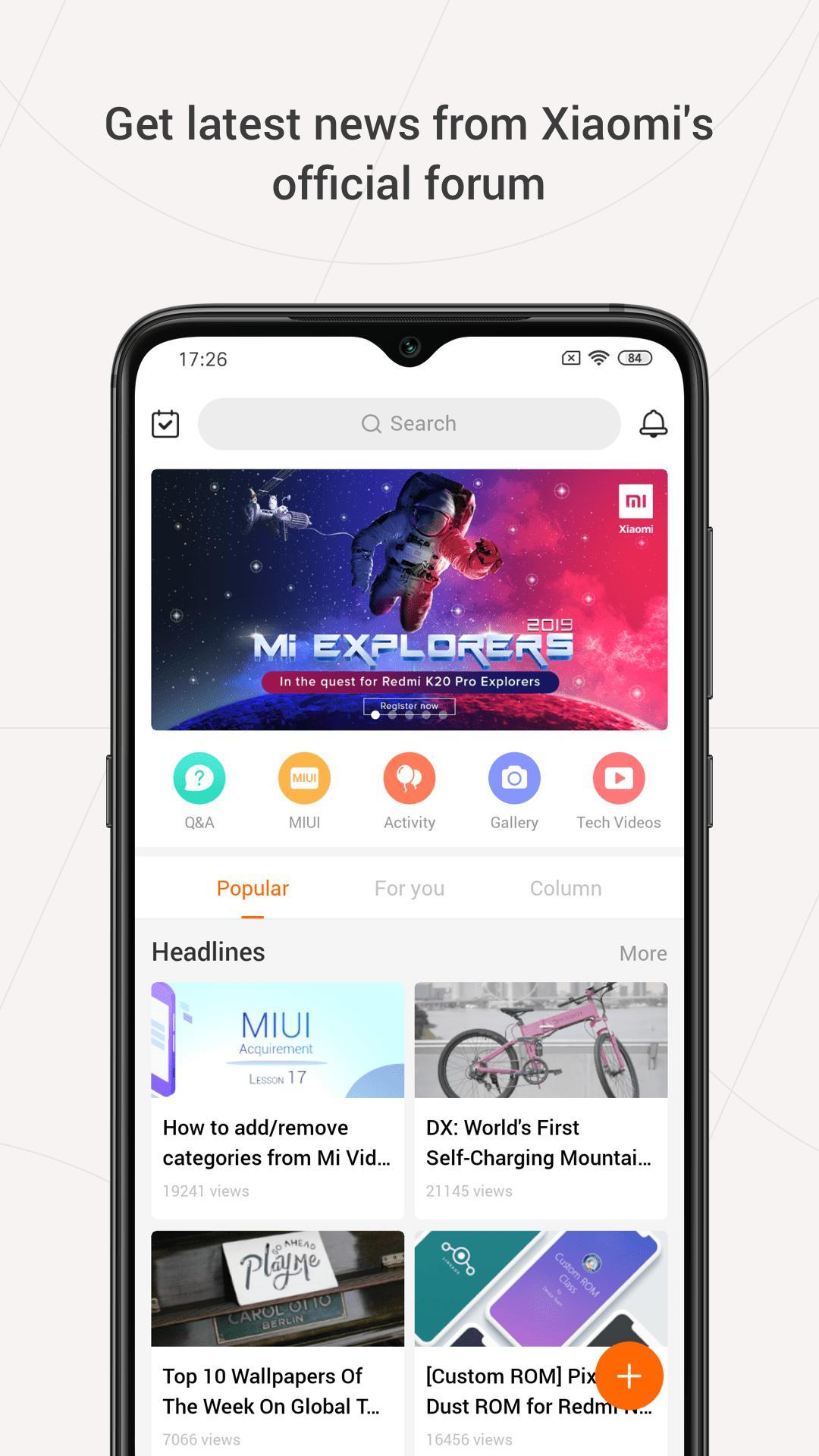 Mi Community Xiaomi Forum 4.3.4 Screenshot 1