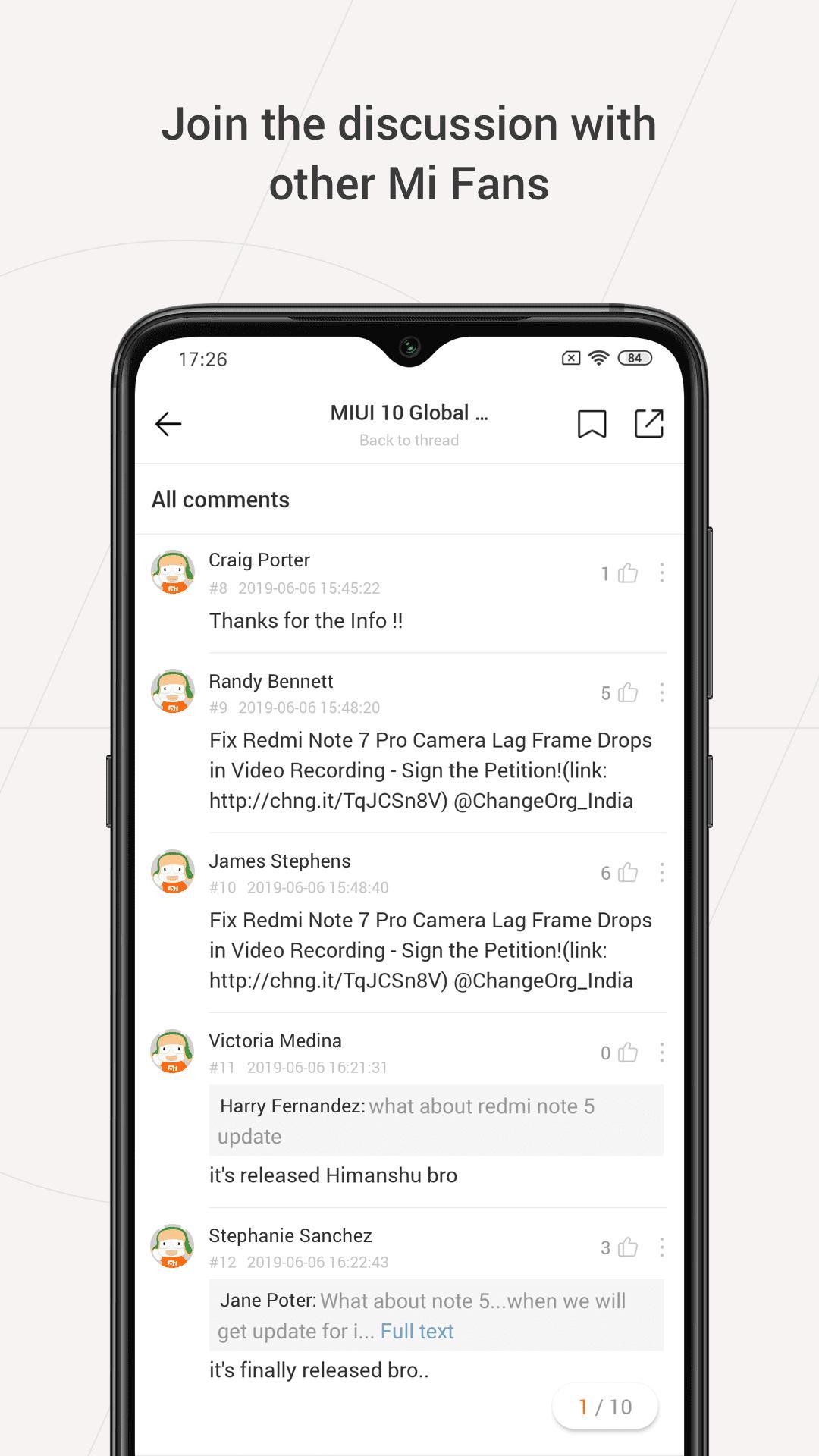 Mi Community Xiaomi Forum 4.3.4 Screenshot 2