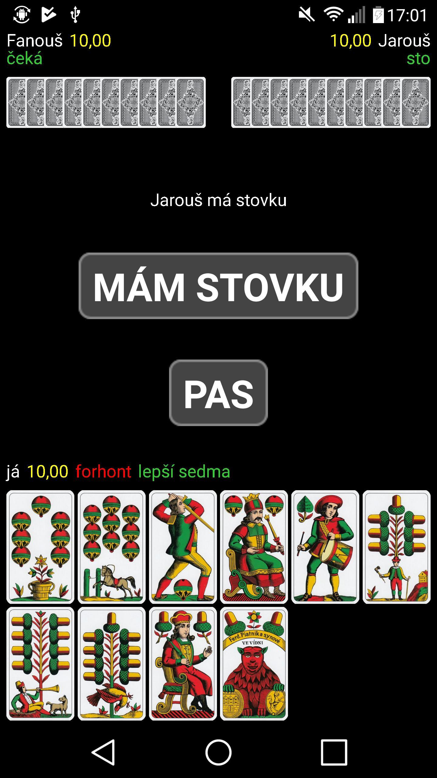 Mariáš 2.07 Screenshot 1