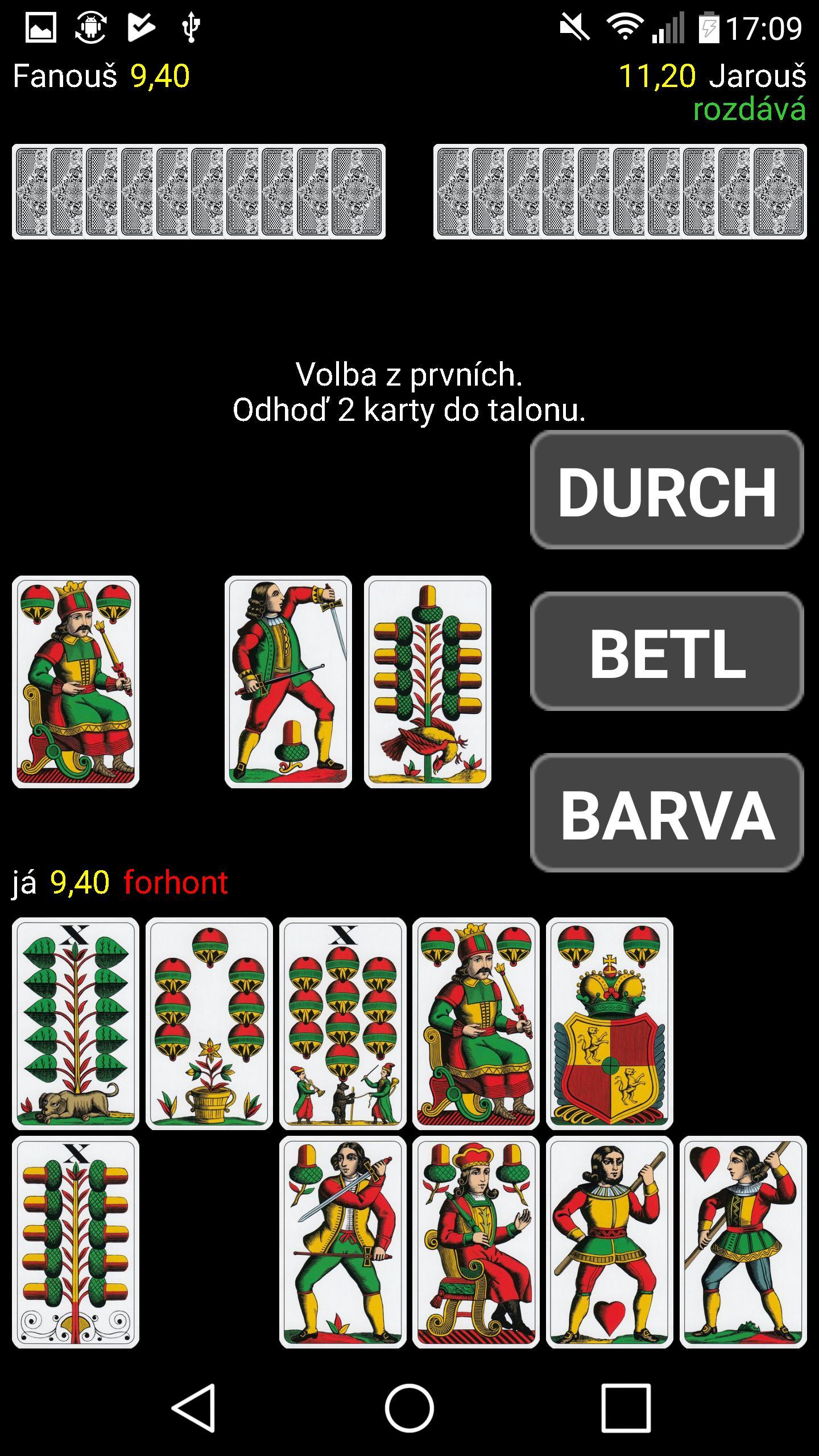 Mariáš 2.07 Screenshot 6
