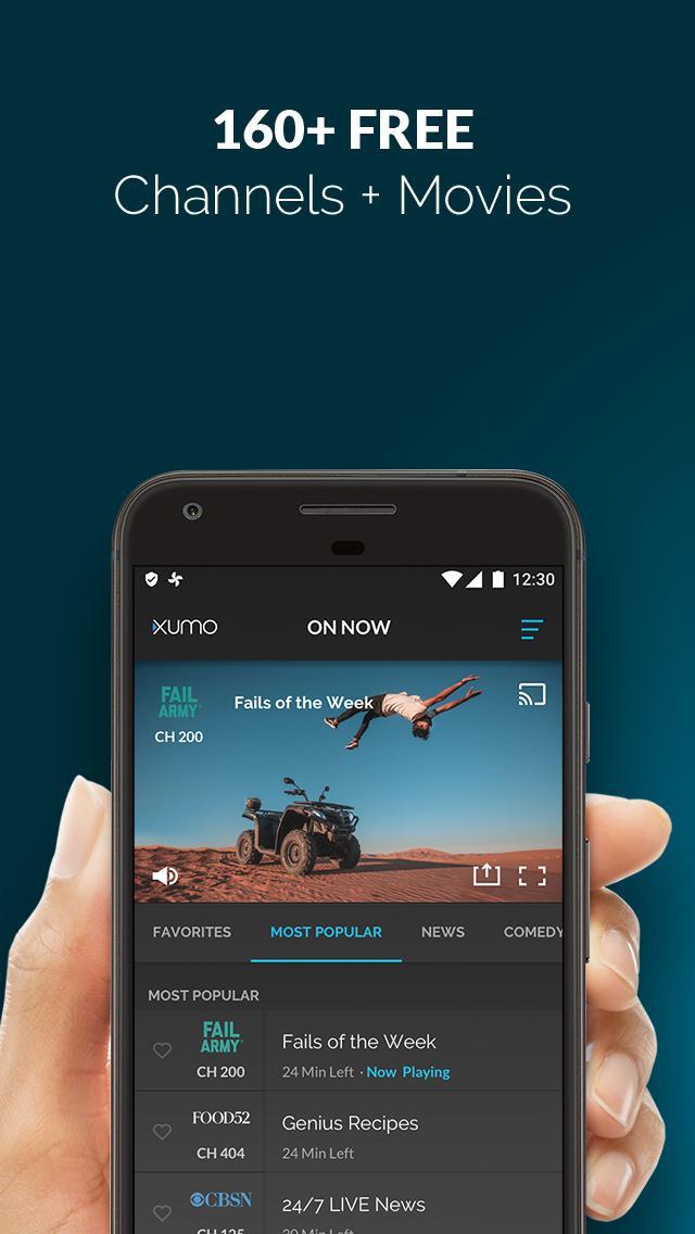 XUMO Free Streaming TV Shows and Movies 2.7.75 Screenshot 1