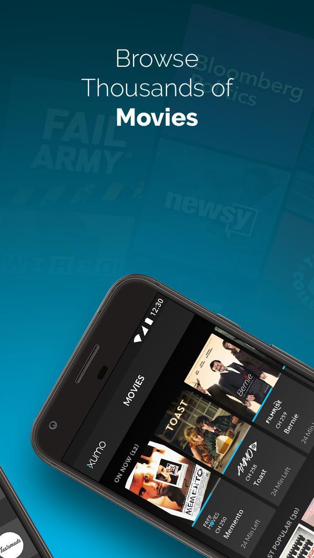 XUMO Free Streaming TV Shows and Movies 2.7.75 Screenshot 3
