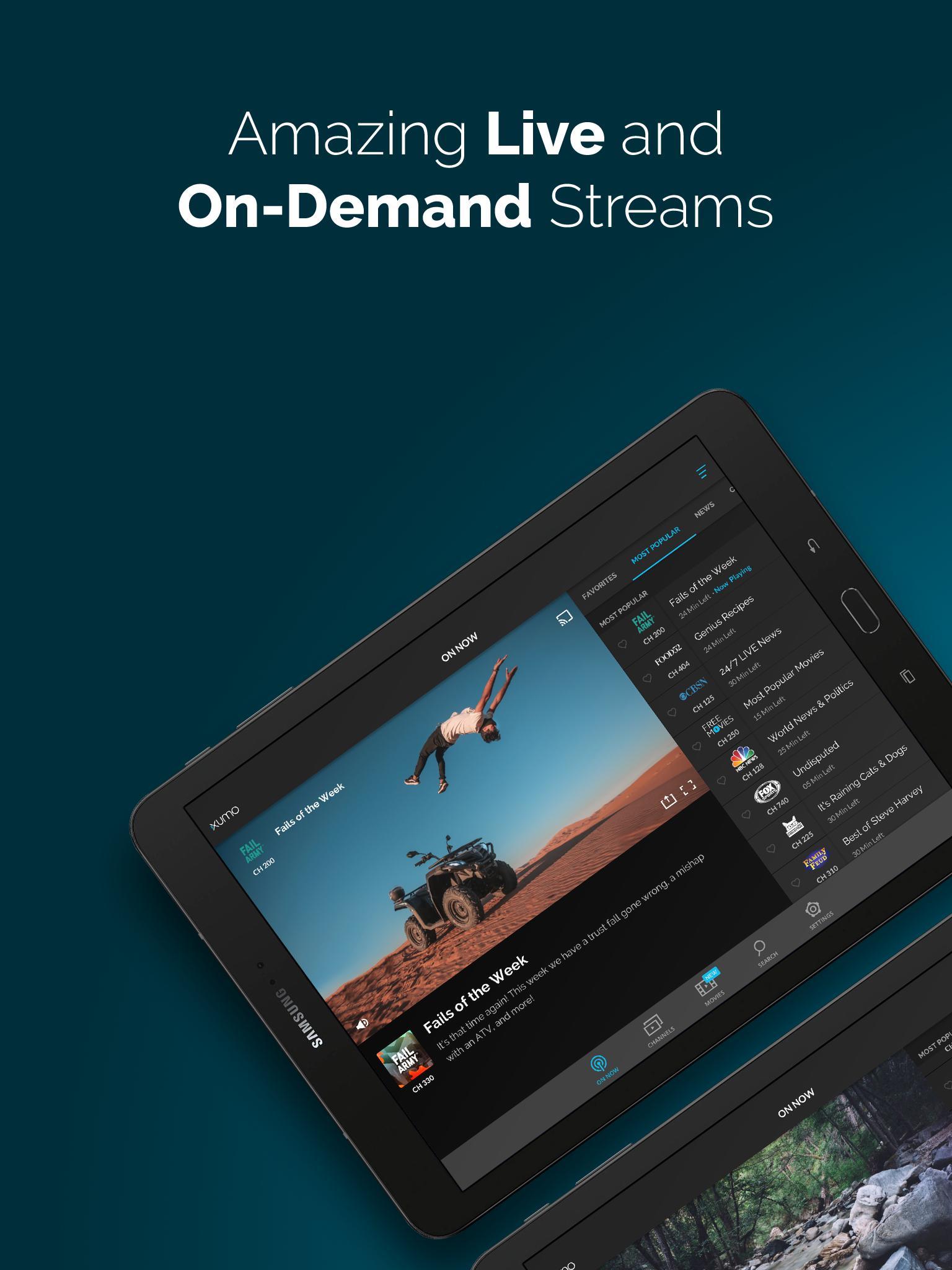 XUMO Free Streaming TV Shows and Movies 2.7.75 Screenshot 6