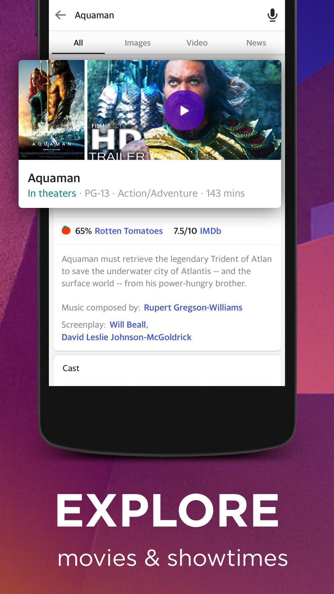 Yahoo Search 5.9.4 Screenshot 5