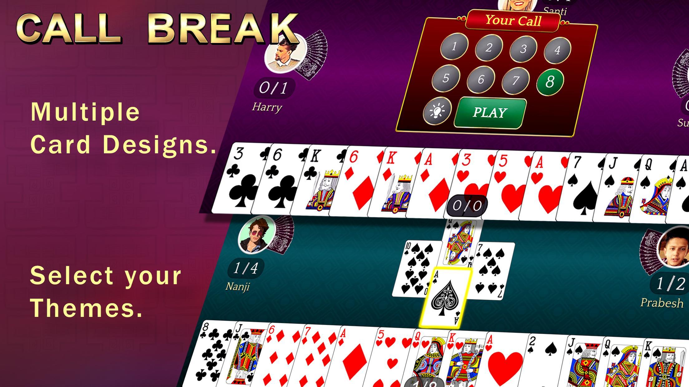 Callbreak, Ludo, Rummy, 29 & Solitaire Card Games 2.8 Screenshot 2