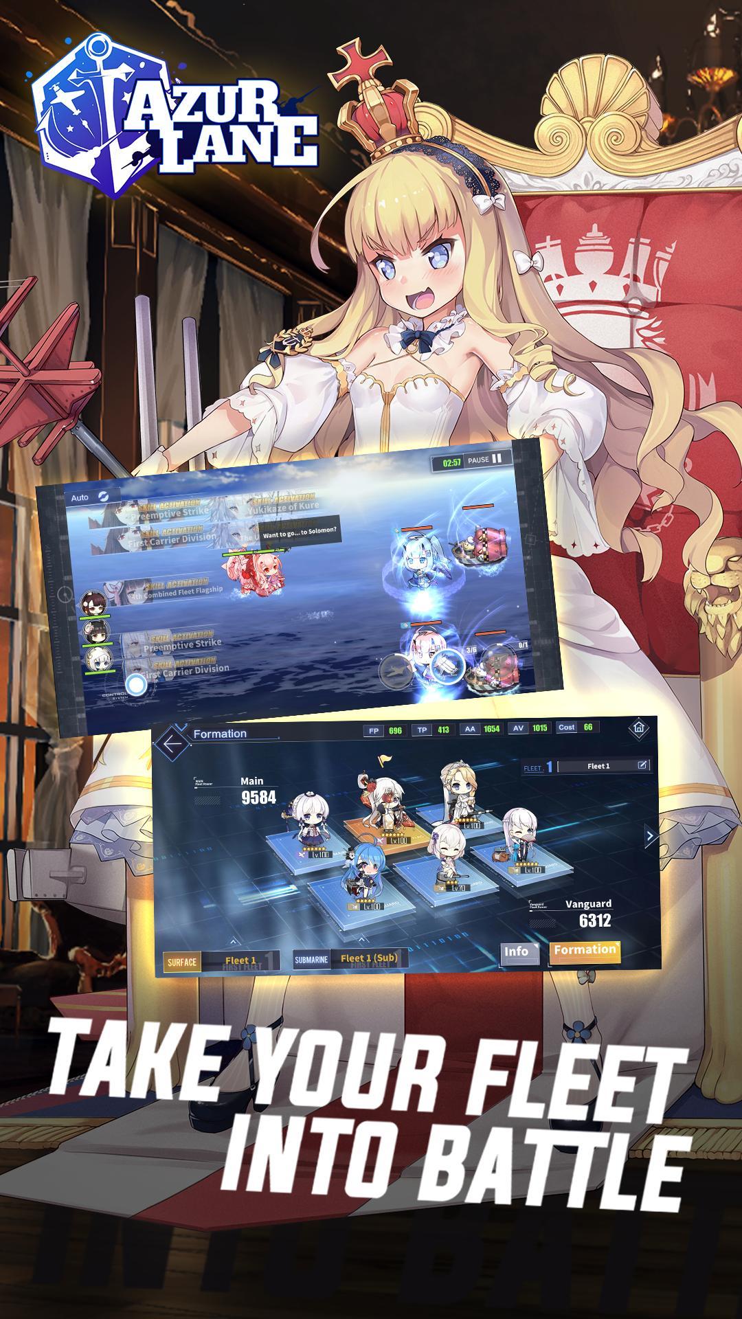 Azur Lane 5.0.203 Screenshot 3