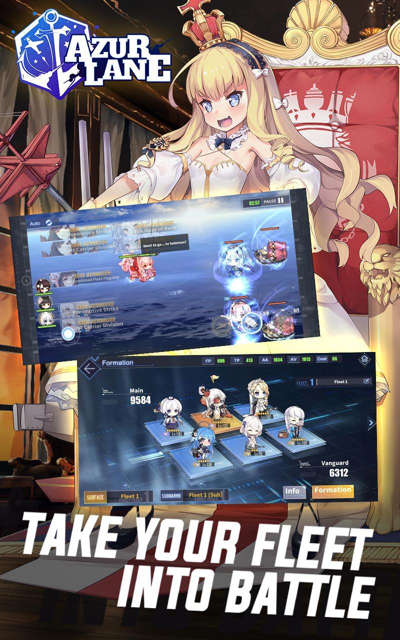 Azur Lane 5.0.203 Screenshot 8