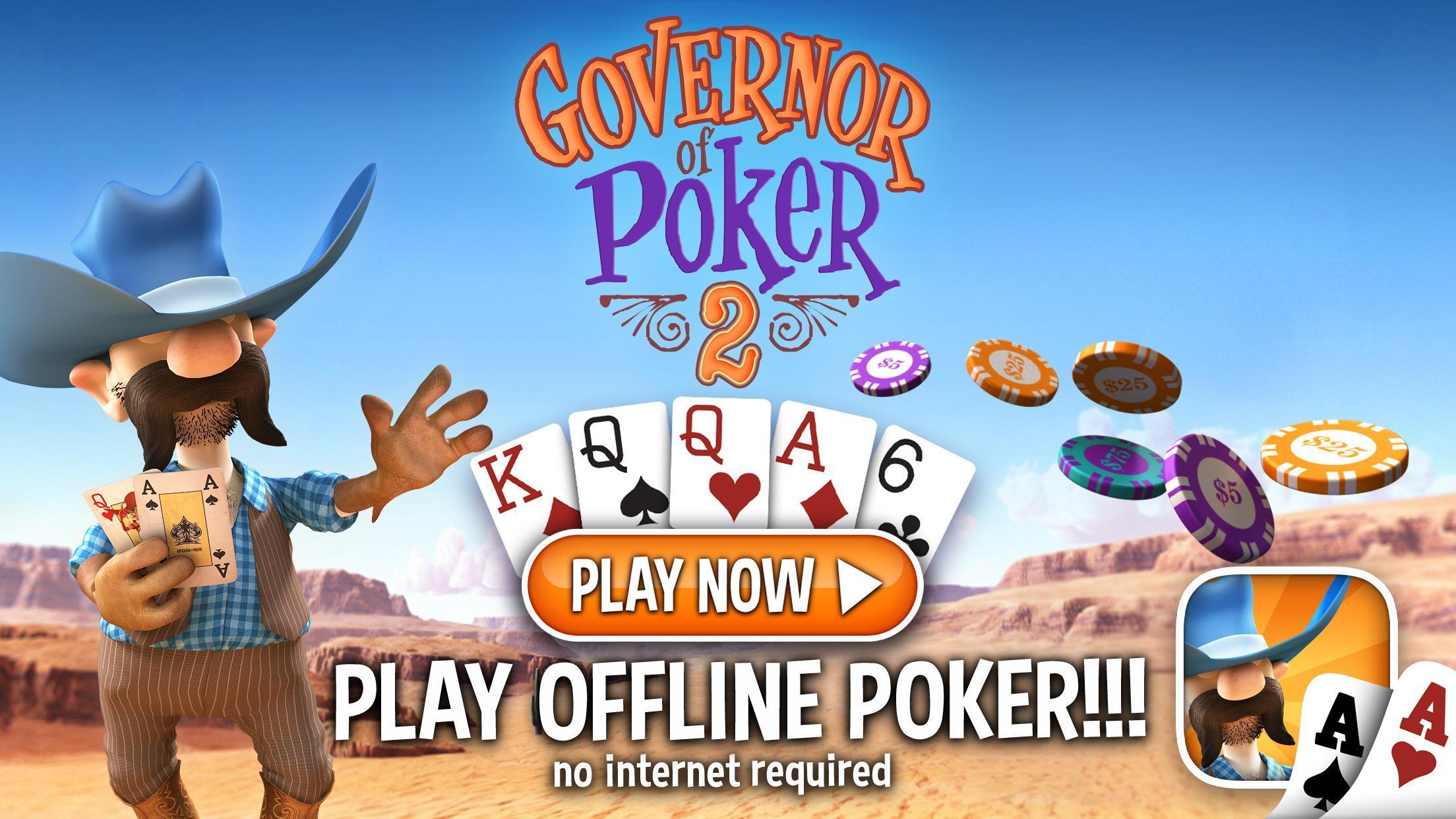 Governor Of Poker 2 Offline Poker Game For Android Apk Download Appsorgames Com