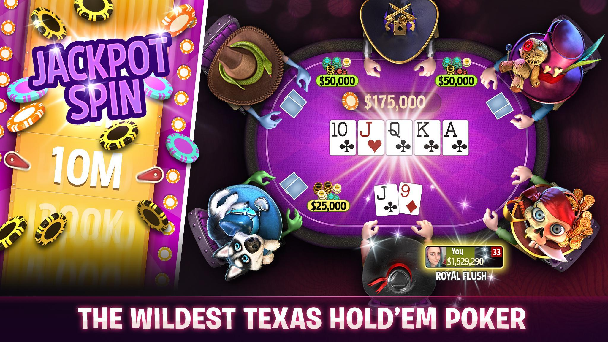 Governor of Poker 3 - Texas Holdem With Friends 6.9.1 Screenshot 1