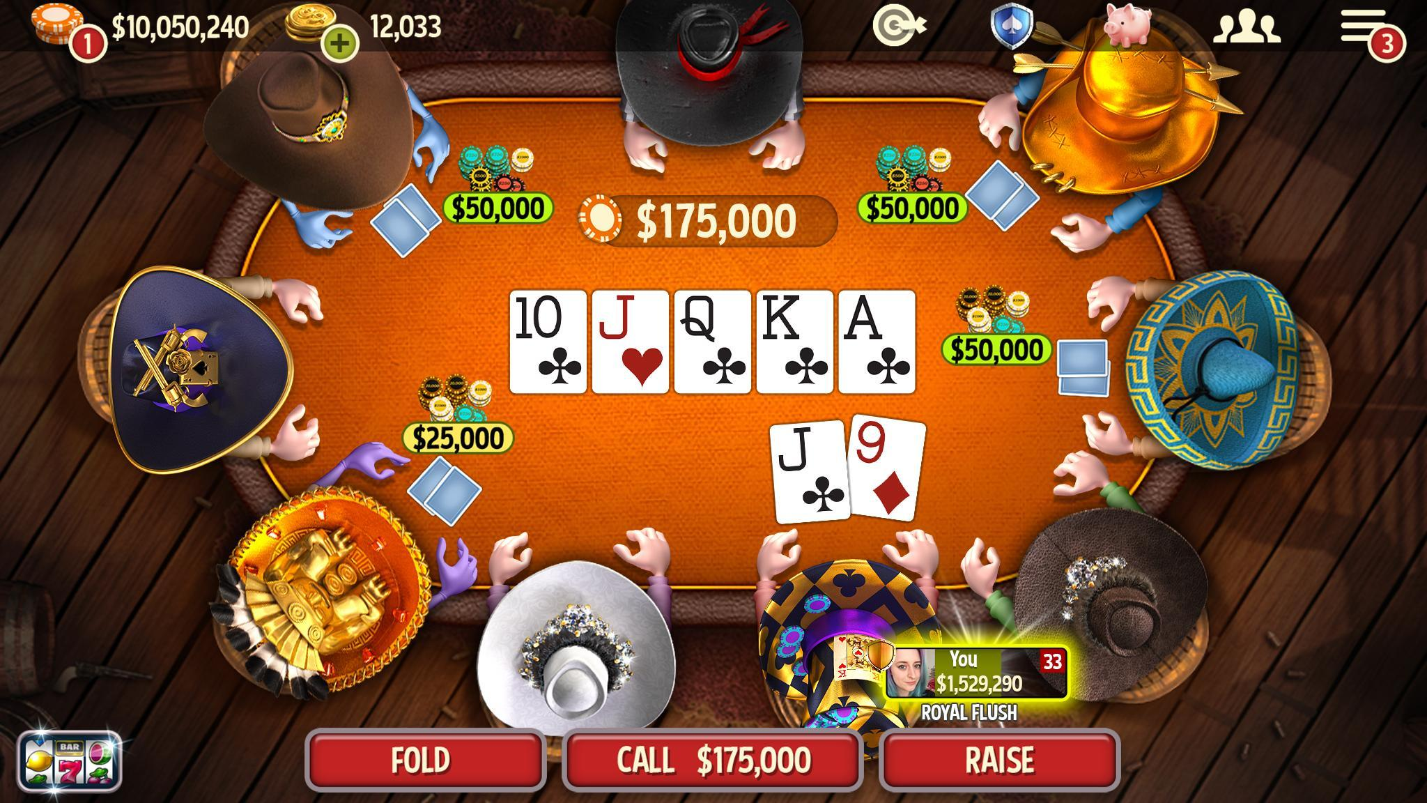 Governor of Poker 3 - Texas Holdem With Friends 6.9.1 Screenshot 2