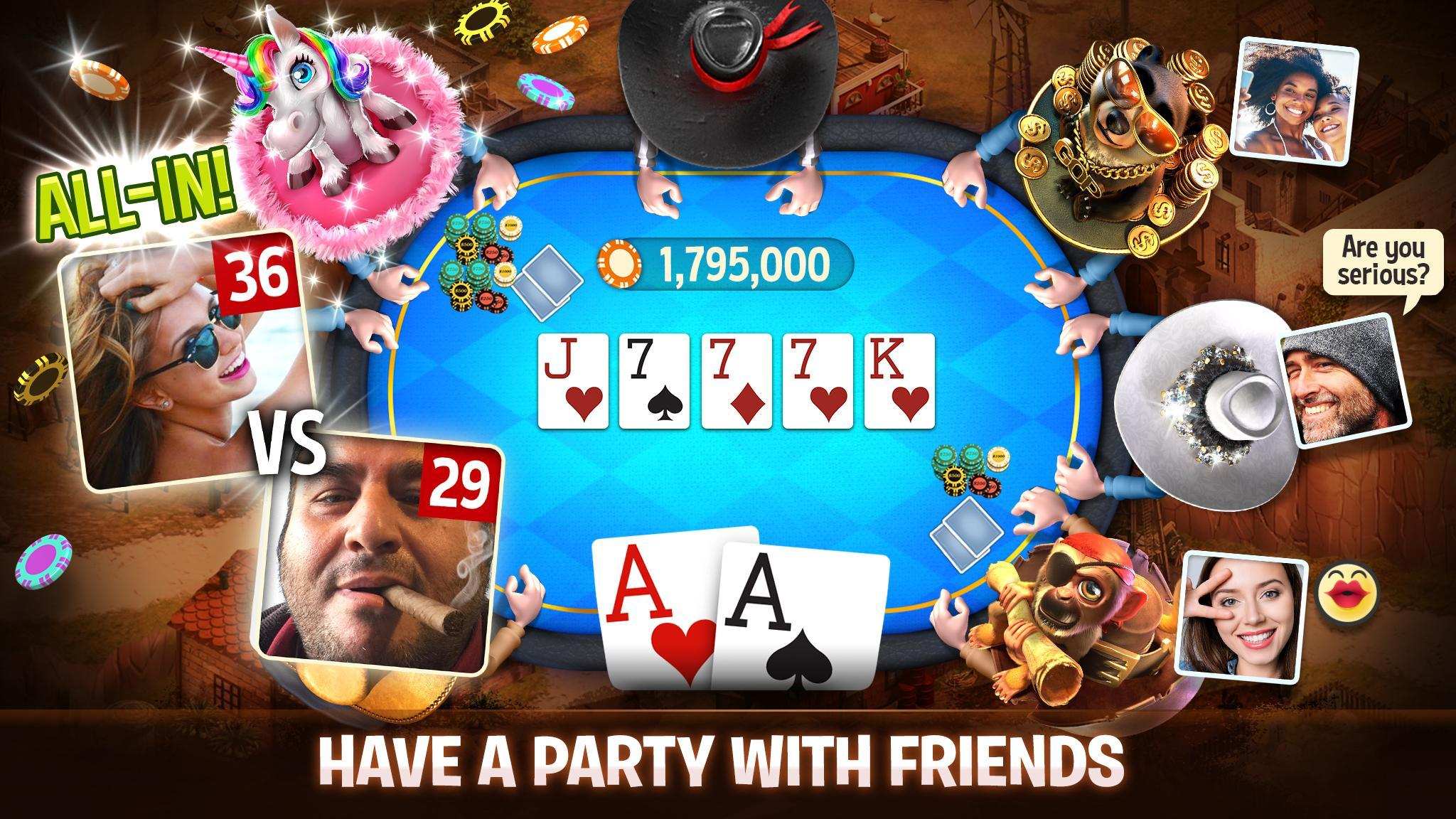Governor of Poker 3 - Texas Holdem With Friends 6.9.1 Screenshot 3