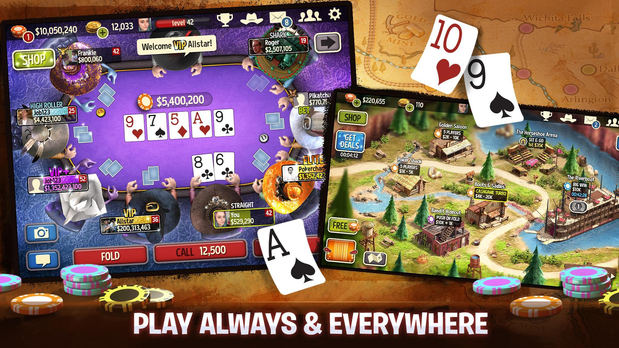Governor of Poker 3 - Texas Holdem With Friends 6.9.1 Screenshot 4