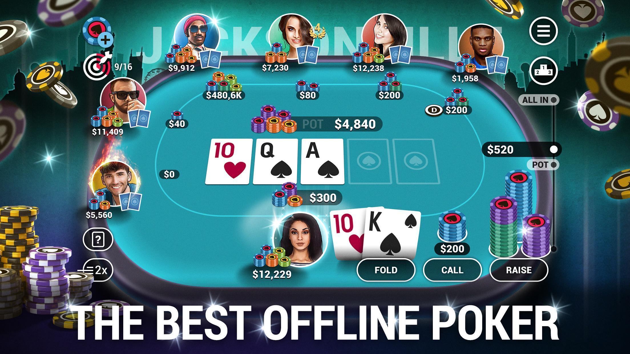 Poker World Offline Texas Holdem 1.7.14 Screenshot 1