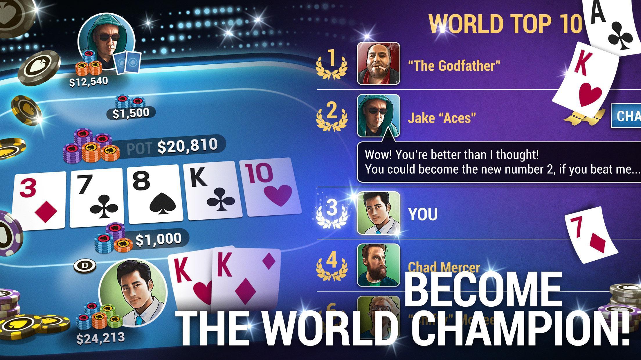 Poker World Offline Texas Holdem 1.7.14 Screenshot 3