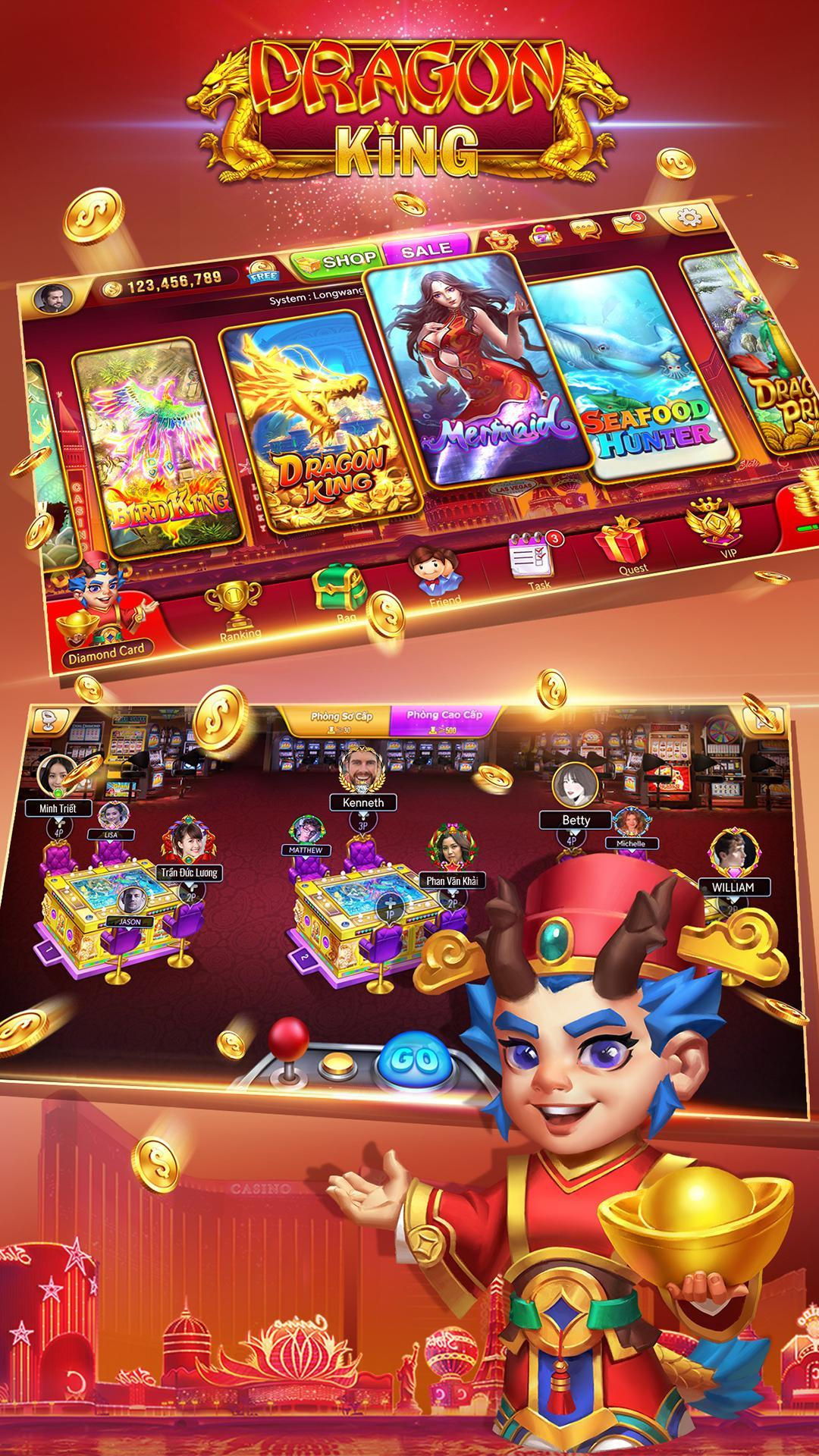 Dragon King Fishing Online-Arcade  Fish Games 5.2.0 Screenshot 1