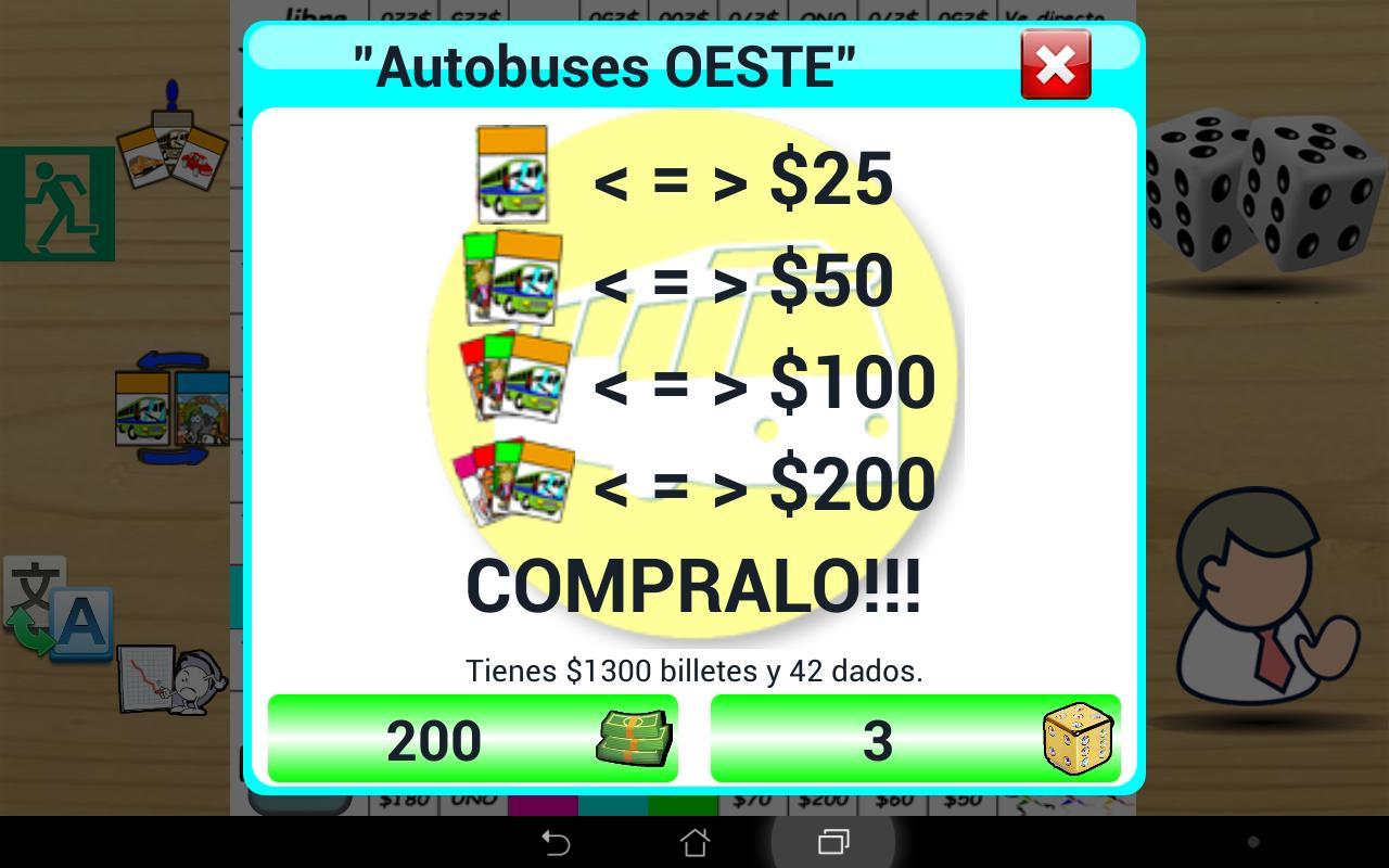Mesa Game, tipo monopoly. 1.76 Screenshot 15