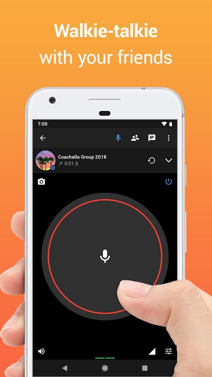 Zello PTT Walkie Talkie 4.78 Screenshot 2