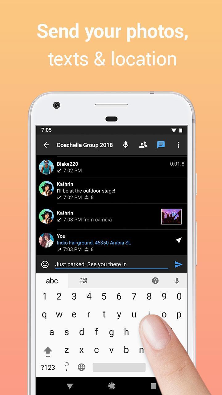 Zello PTT Walkie Talkie 4.78 Screenshot 3
