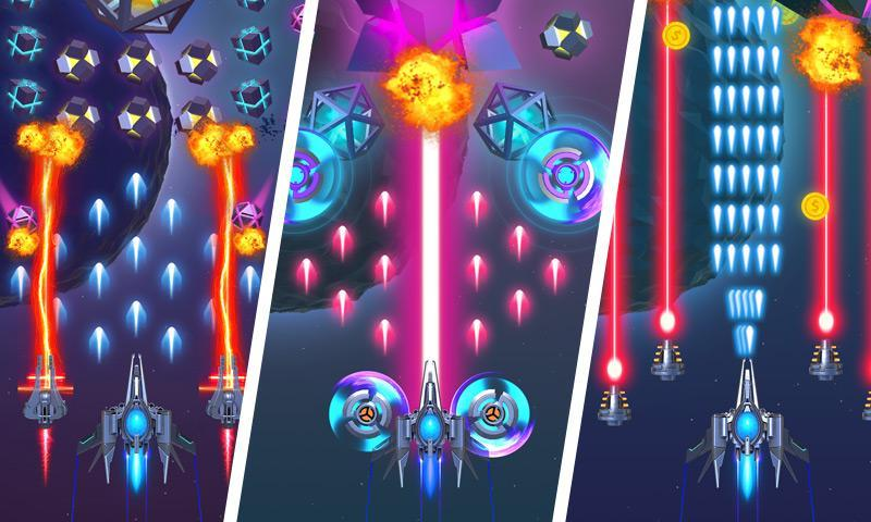 Dust Settle 3D-Infinity Space Shooting Arcade Game 1.49 Screenshot 2