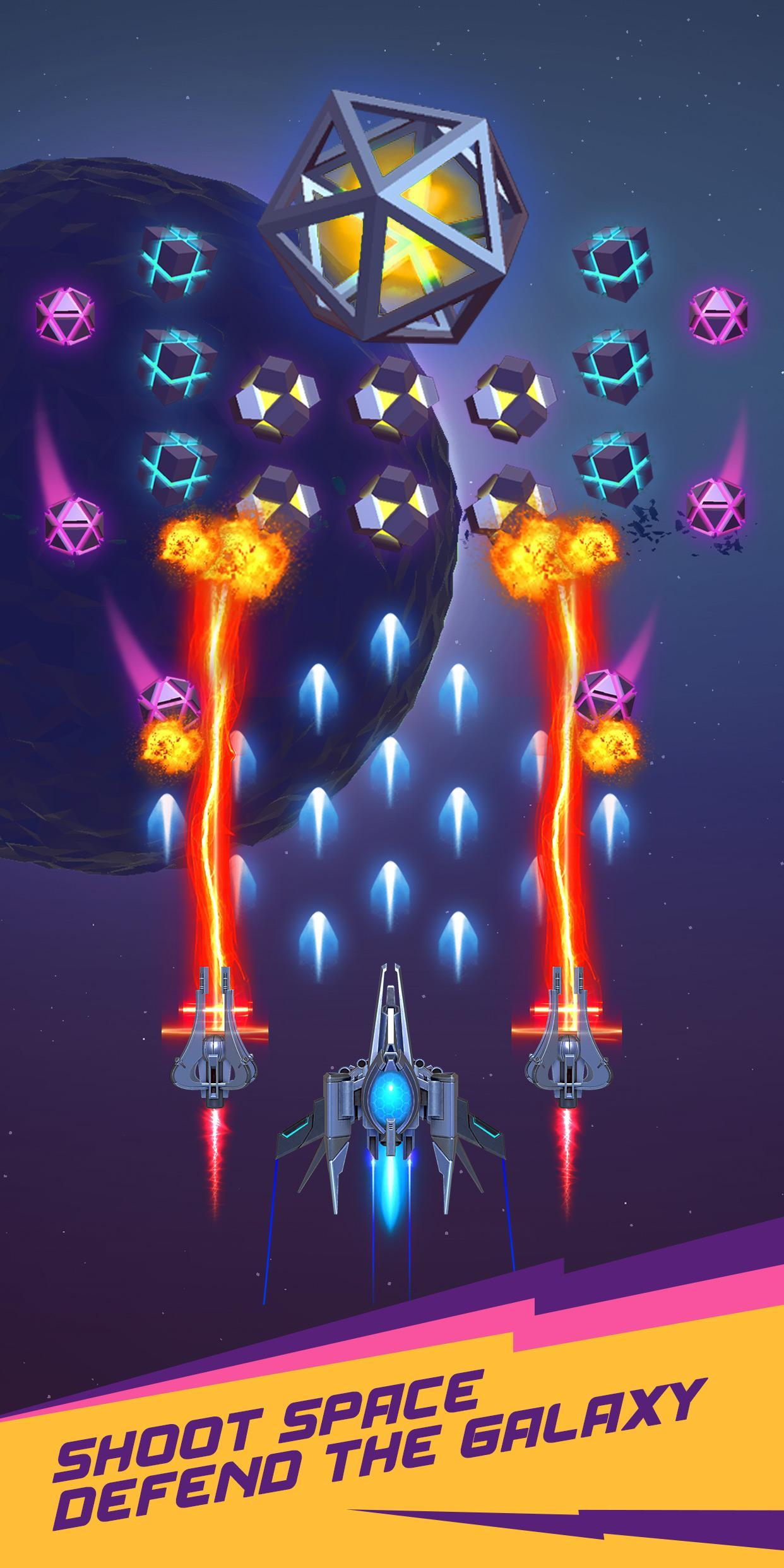 Dust Settle 3D-Infinity Space Shooting Arcade Game 1.49 Screenshot 3