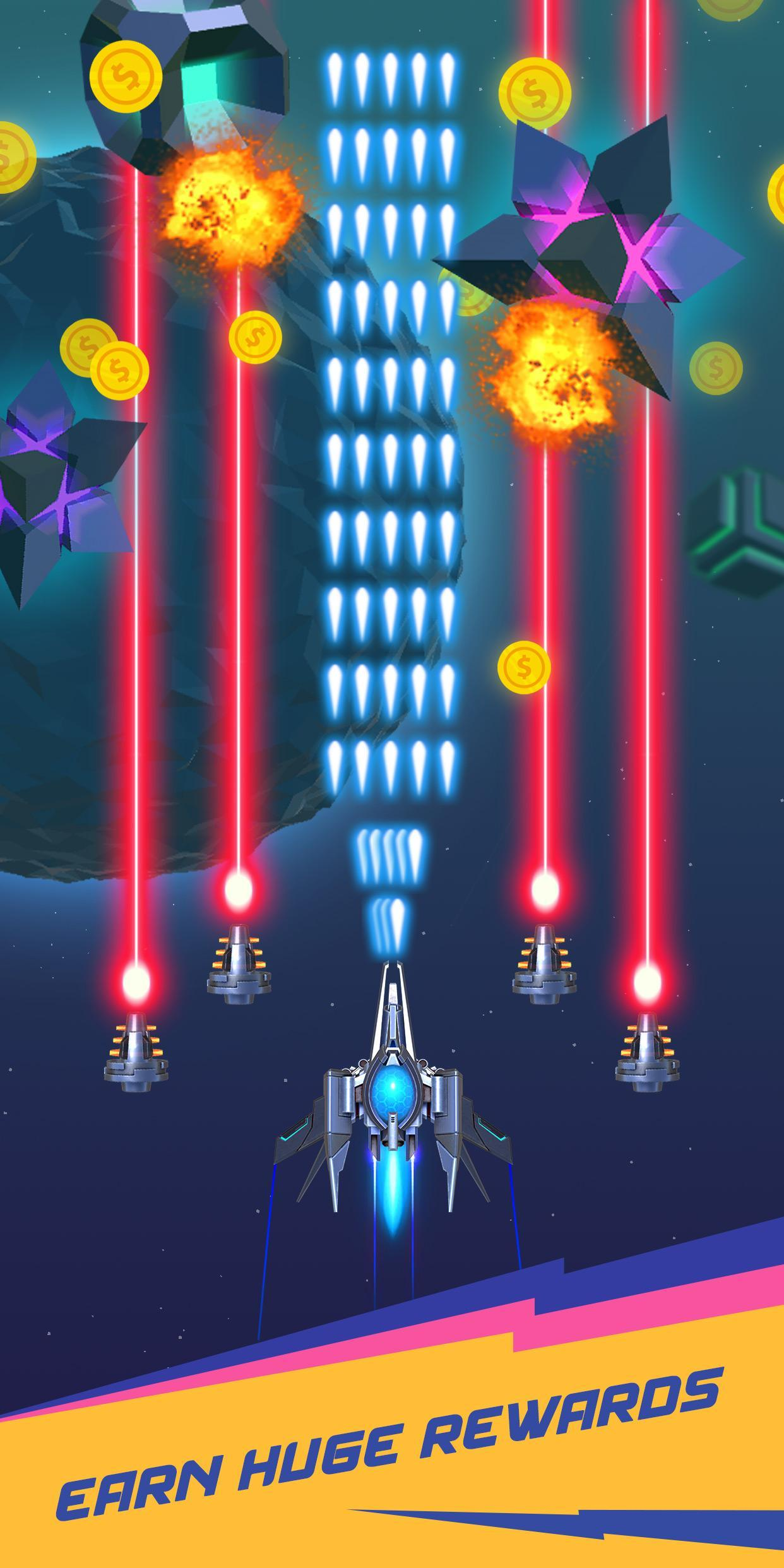 Dust Settle 3D-Infinity Space Shooting Arcade Game 1.49 Screenshot 4