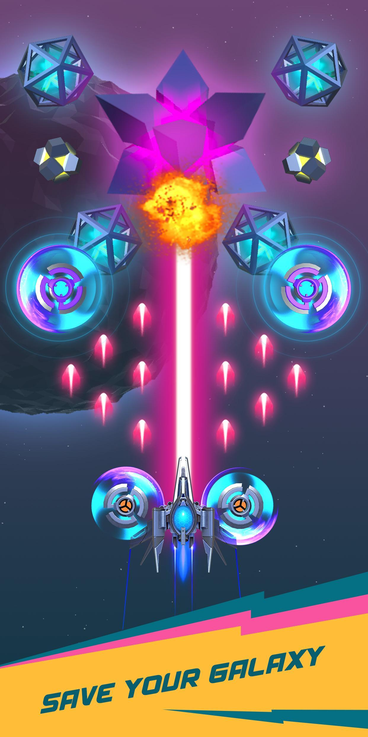 Dust Settle 3D-Infinity Space Shooting Arcade Game 1.49 Screenshot 5