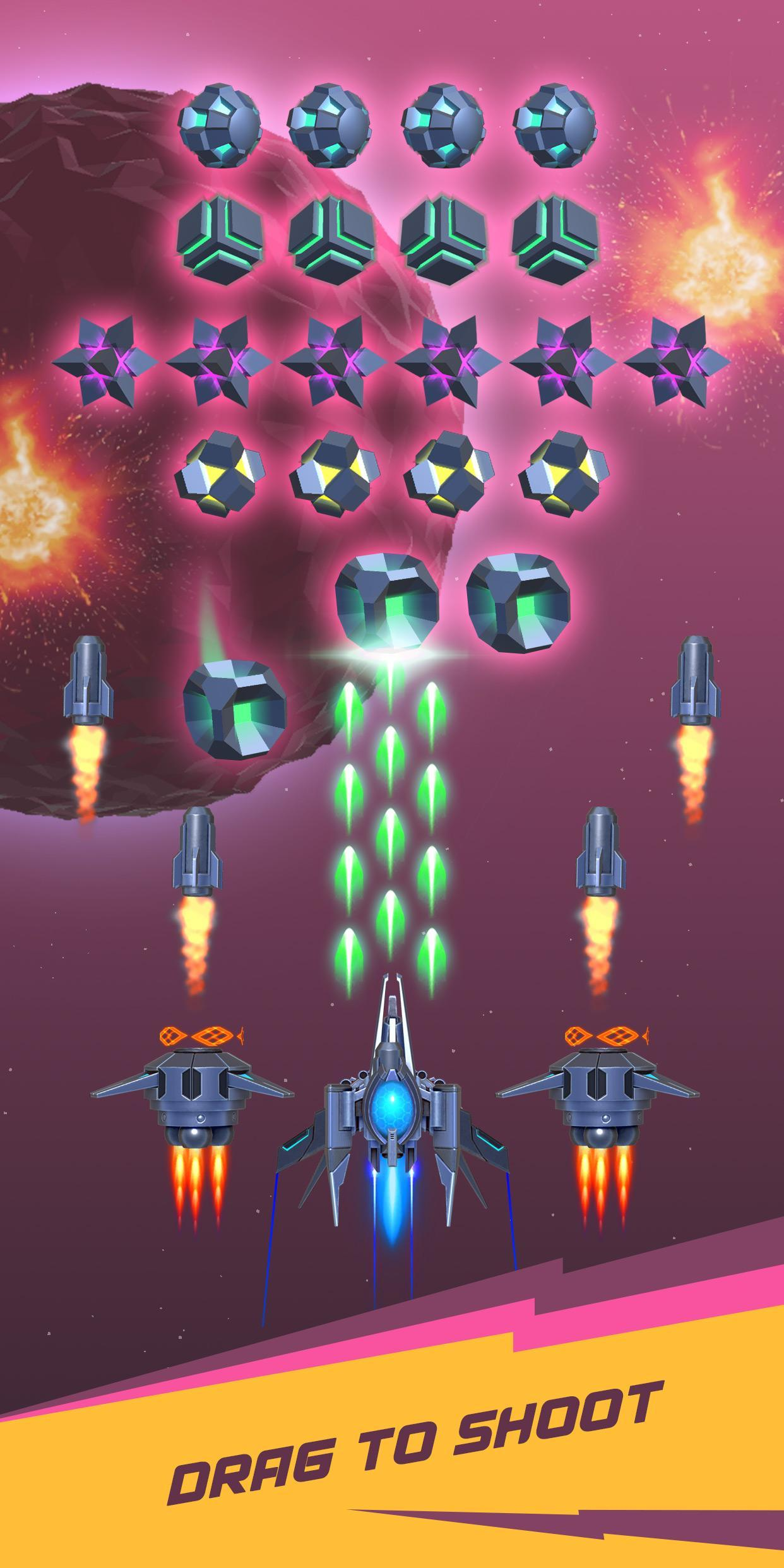 Dust Settle 3D-Infinity Space Shooting Arcade Game 1.49 Screenshot 6