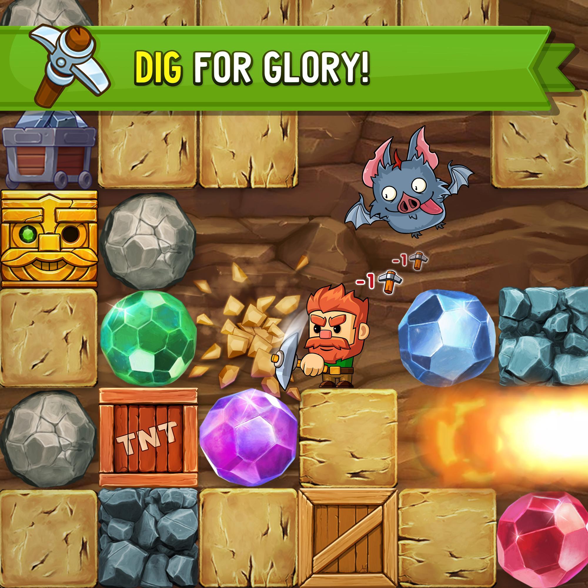 Dig Out! Gold Digger 2.16.1 Screenshot 1