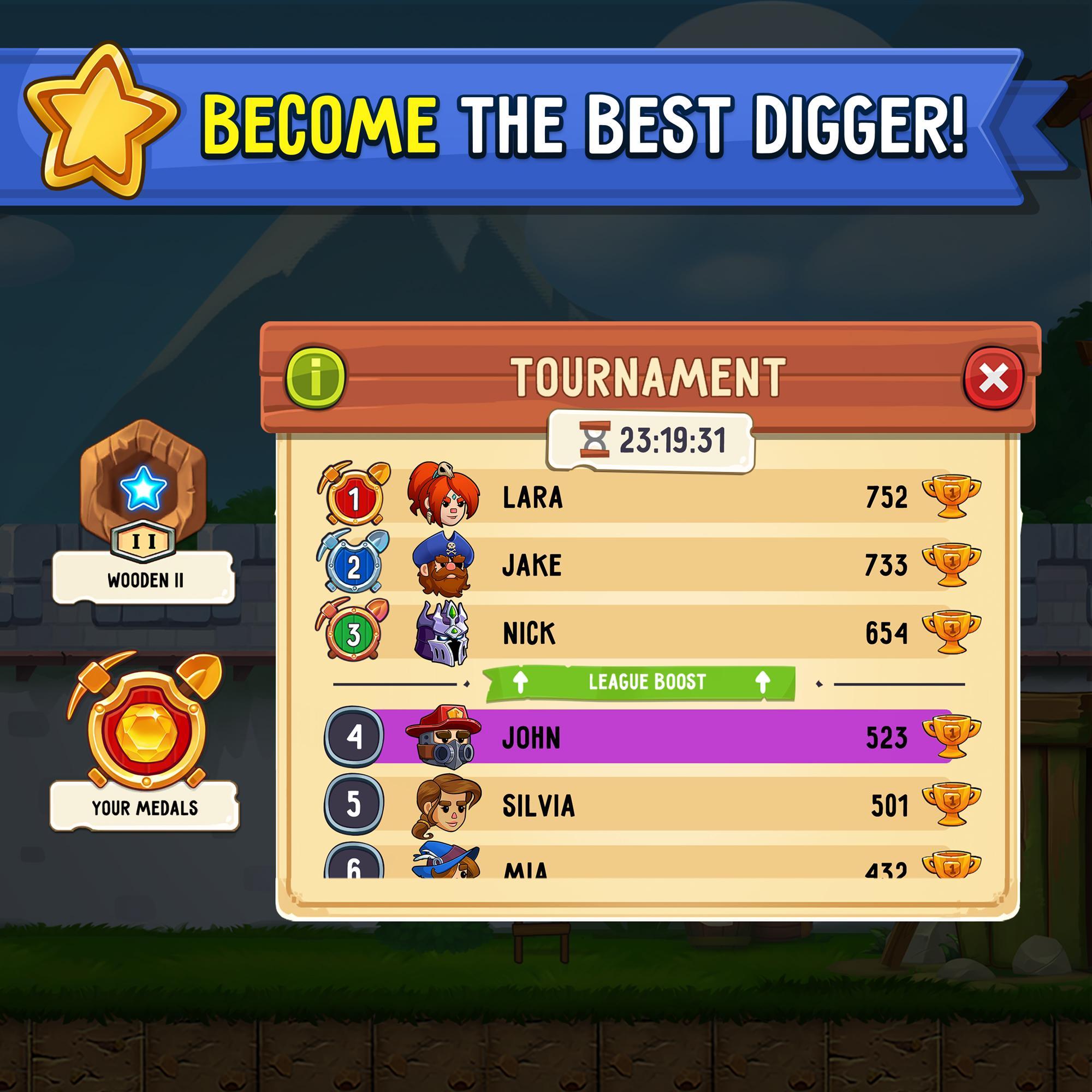 Dig Out! Gold Digger 2.16.1 Screenshot 13
