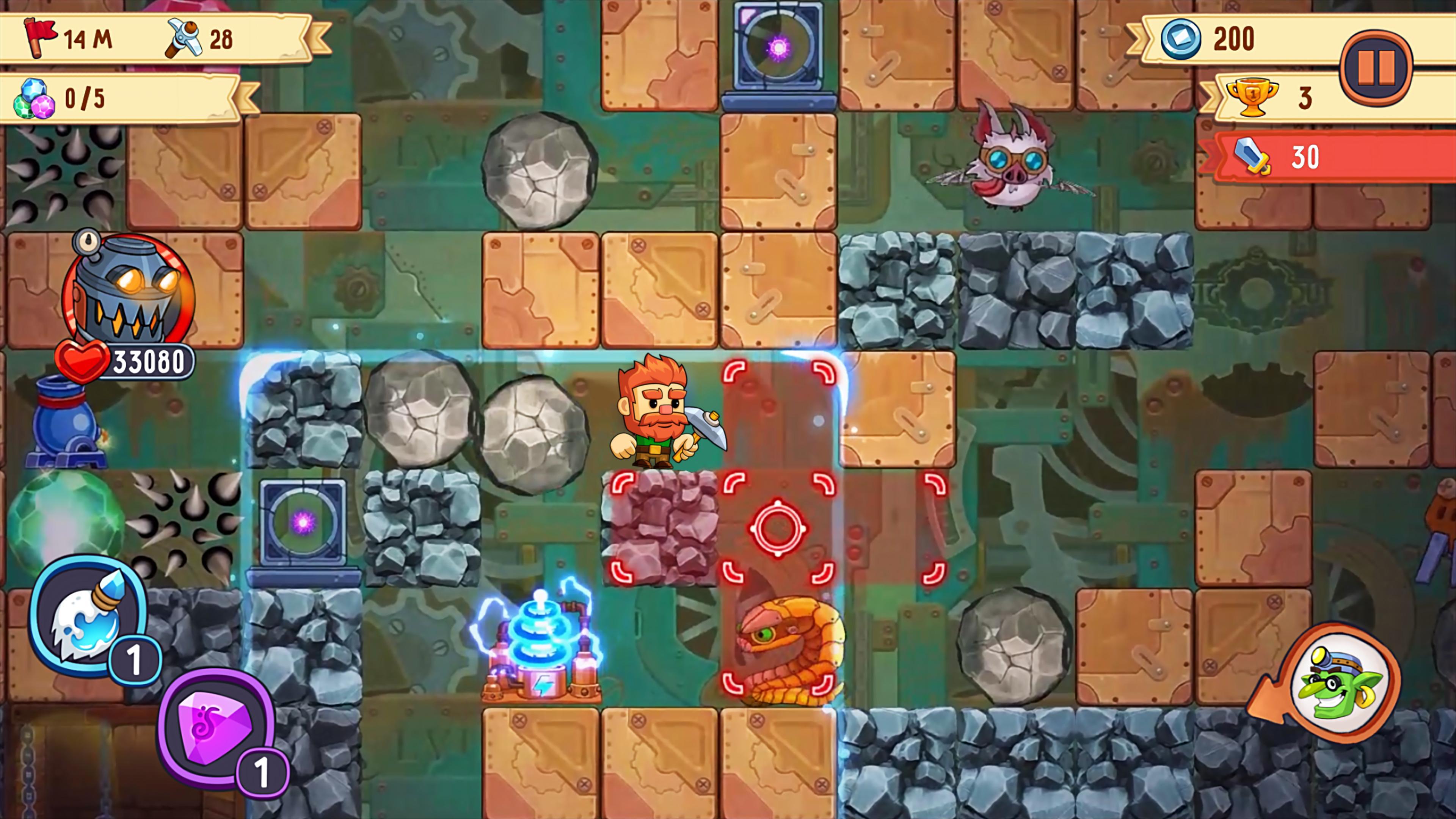 Dig Out! Gold Digger 2.16.1 Screenshot 14