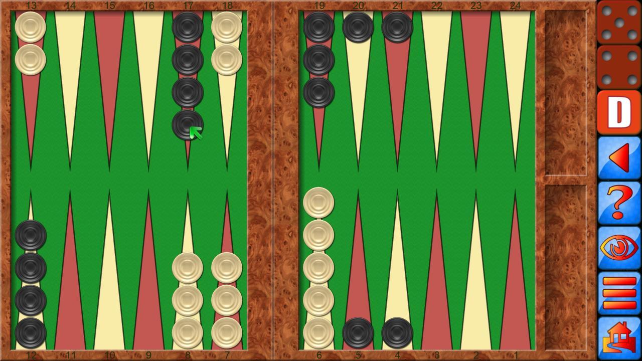 Backgammon V+, online multiplayer backgammon 5.25.64 Screenshot 1