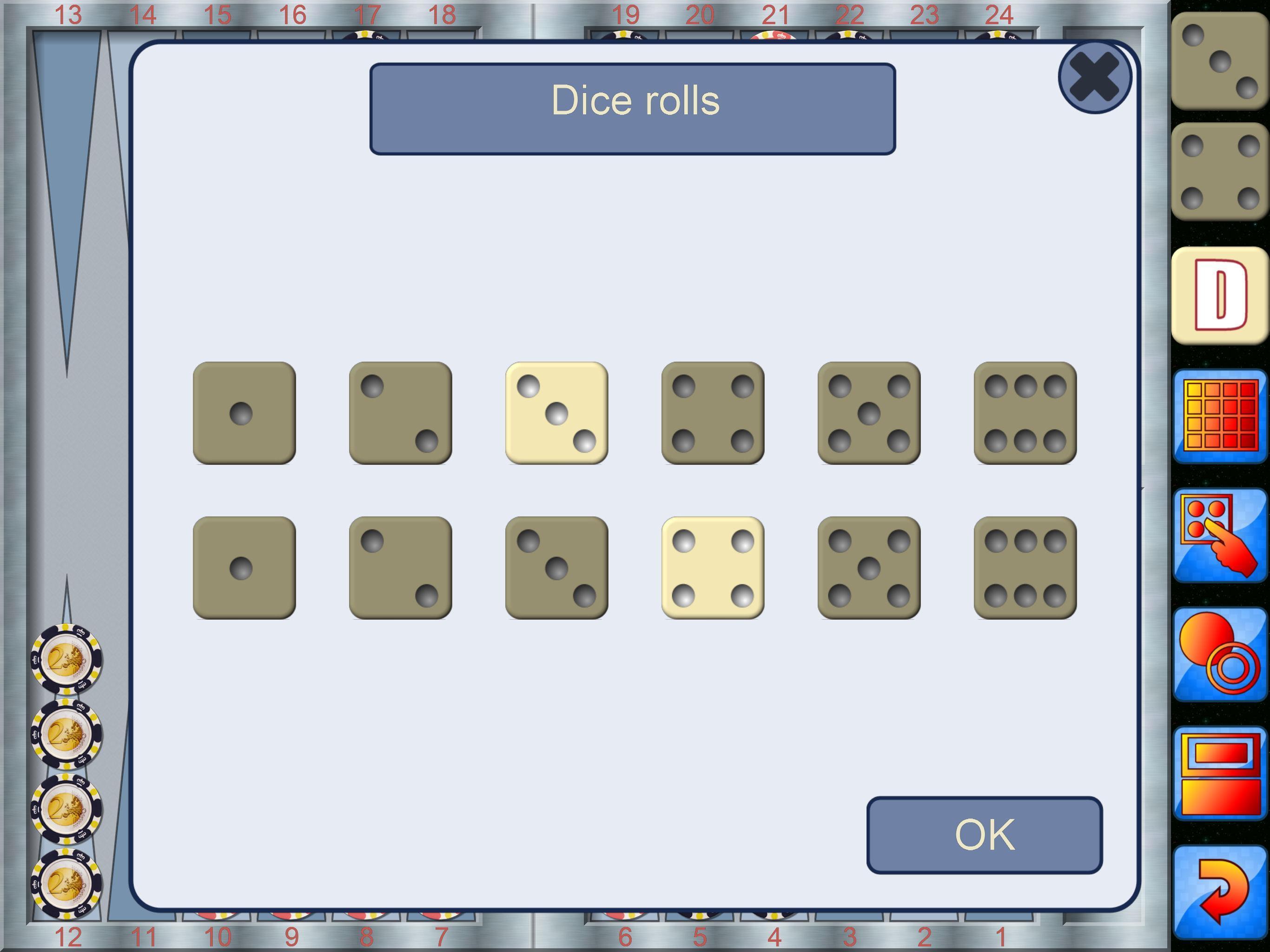 Backgammon V+, online multiplayer backgammon 5.25.64 Screenshot 15
