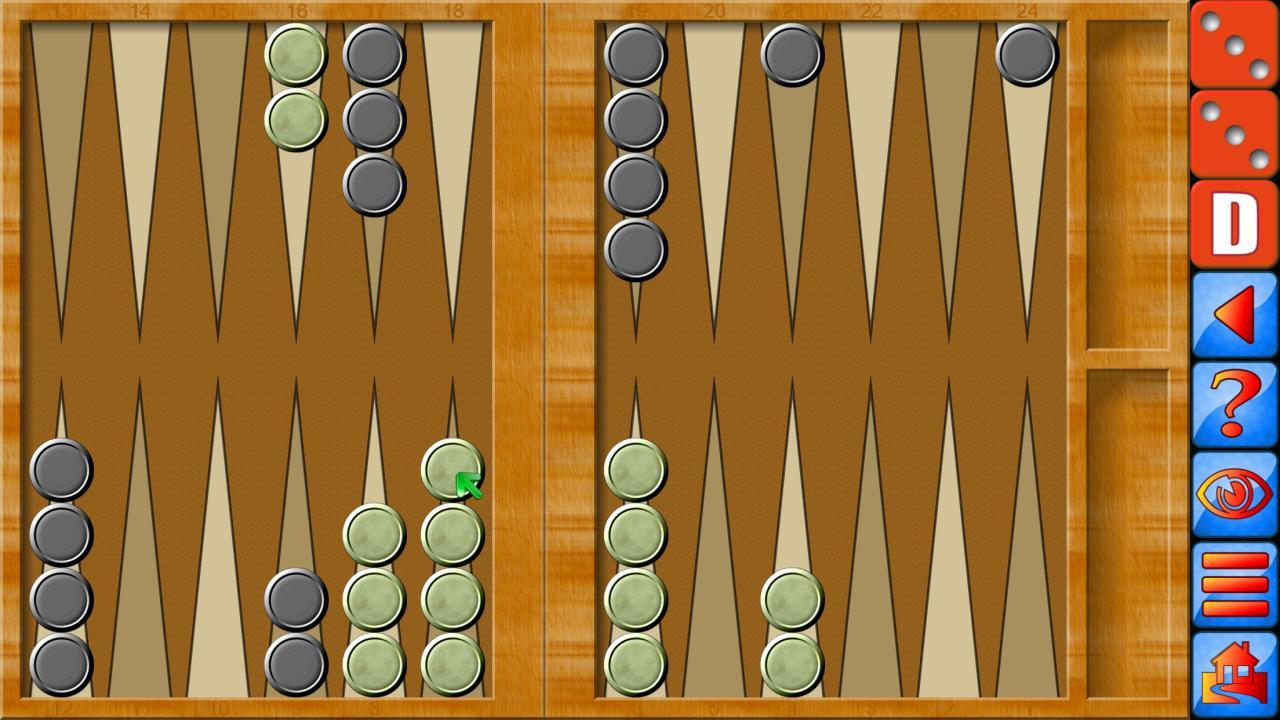 Backgammon V+, online multiplayer backgammon 5.25.64 Screenshot 2