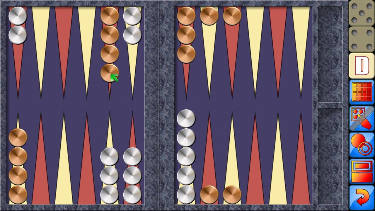 Backgammon V+, online multiplayer backgammon 5.25.64 Screenshot 4