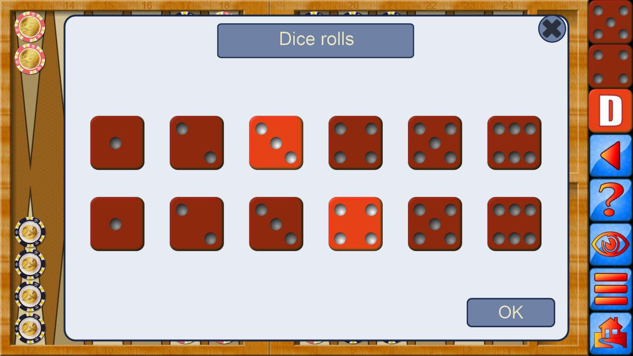 Backgammon V+, online multiplayer backgammon 5.25.64 Screenshot 5