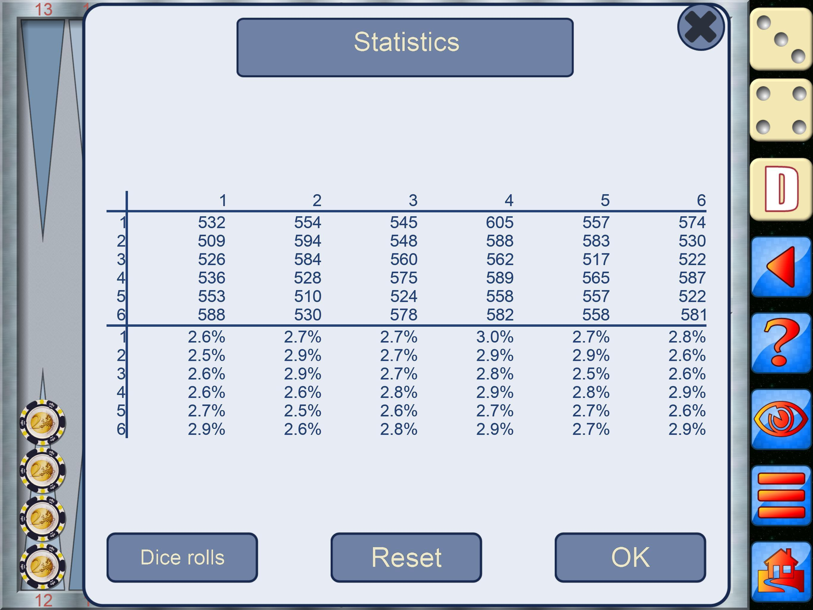 Backgammon V+, online multiplayer backgammon 5.25.64 Screenshot 8