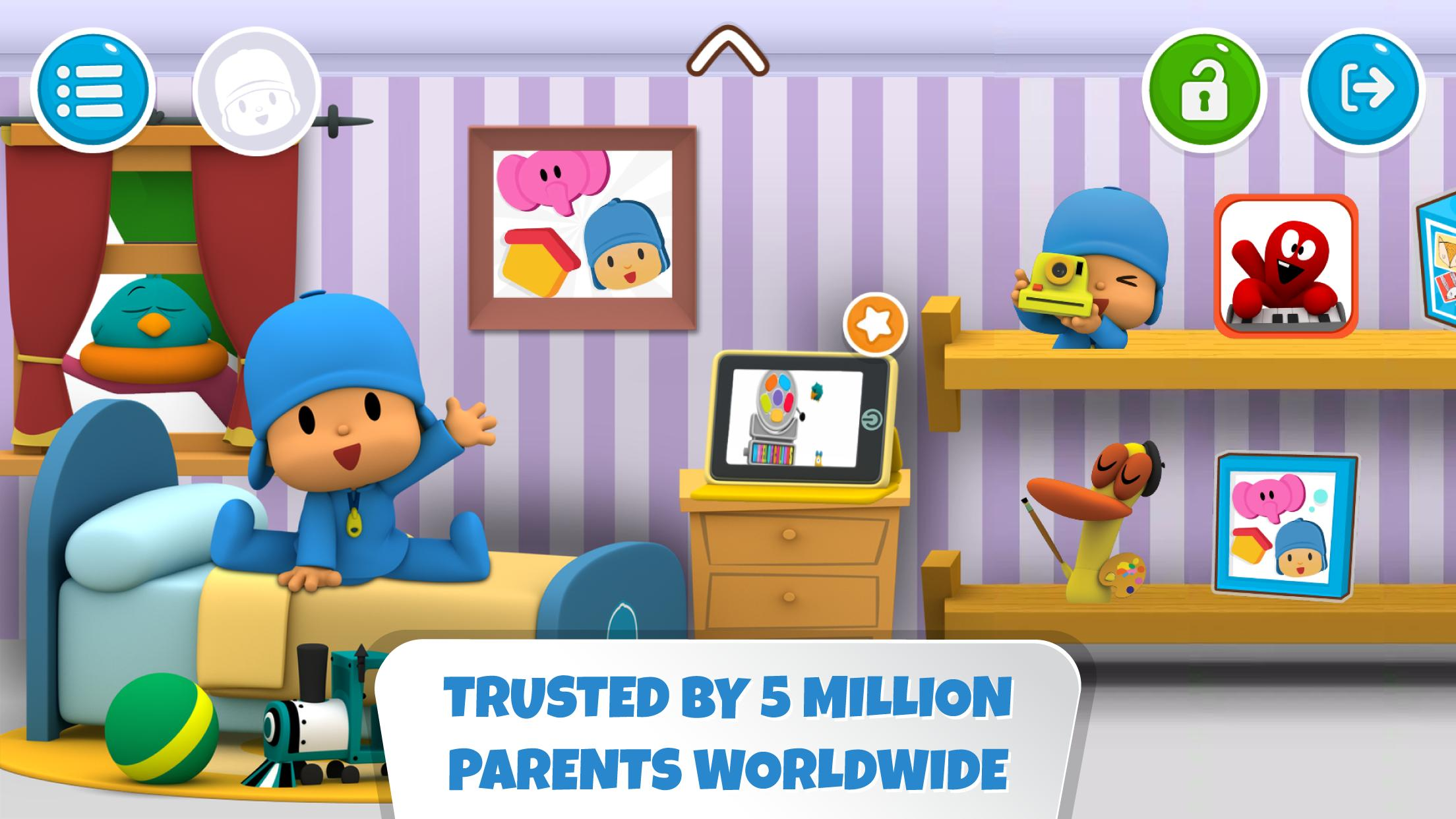 Pocoyo House best videos and apps for kids 3.1.3 Screenshot 1