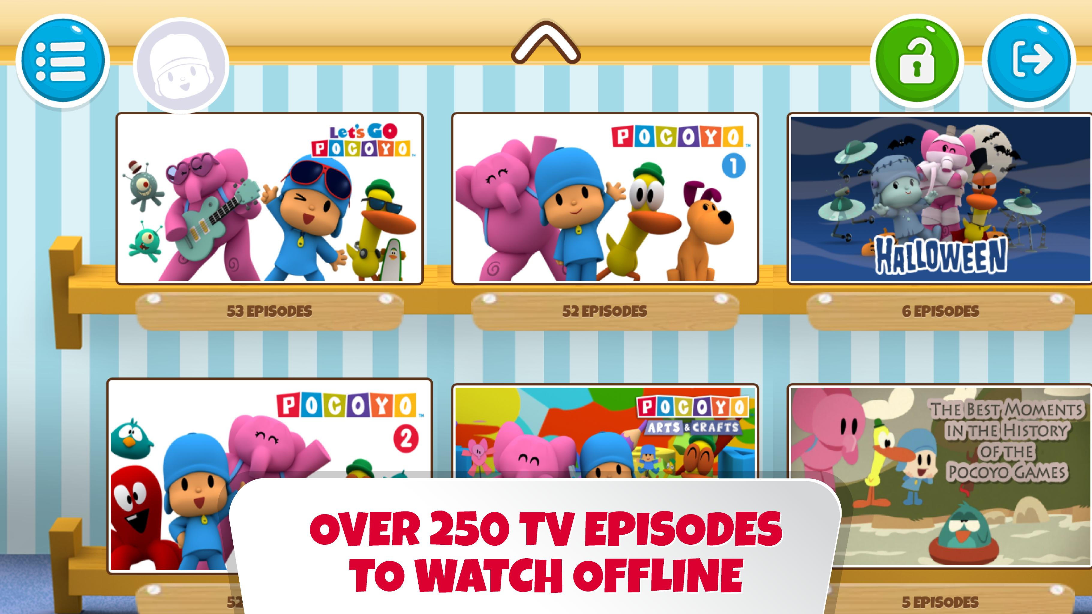 Pocoyo House best videos and apps for kids 3.1.3 Screenshot 10