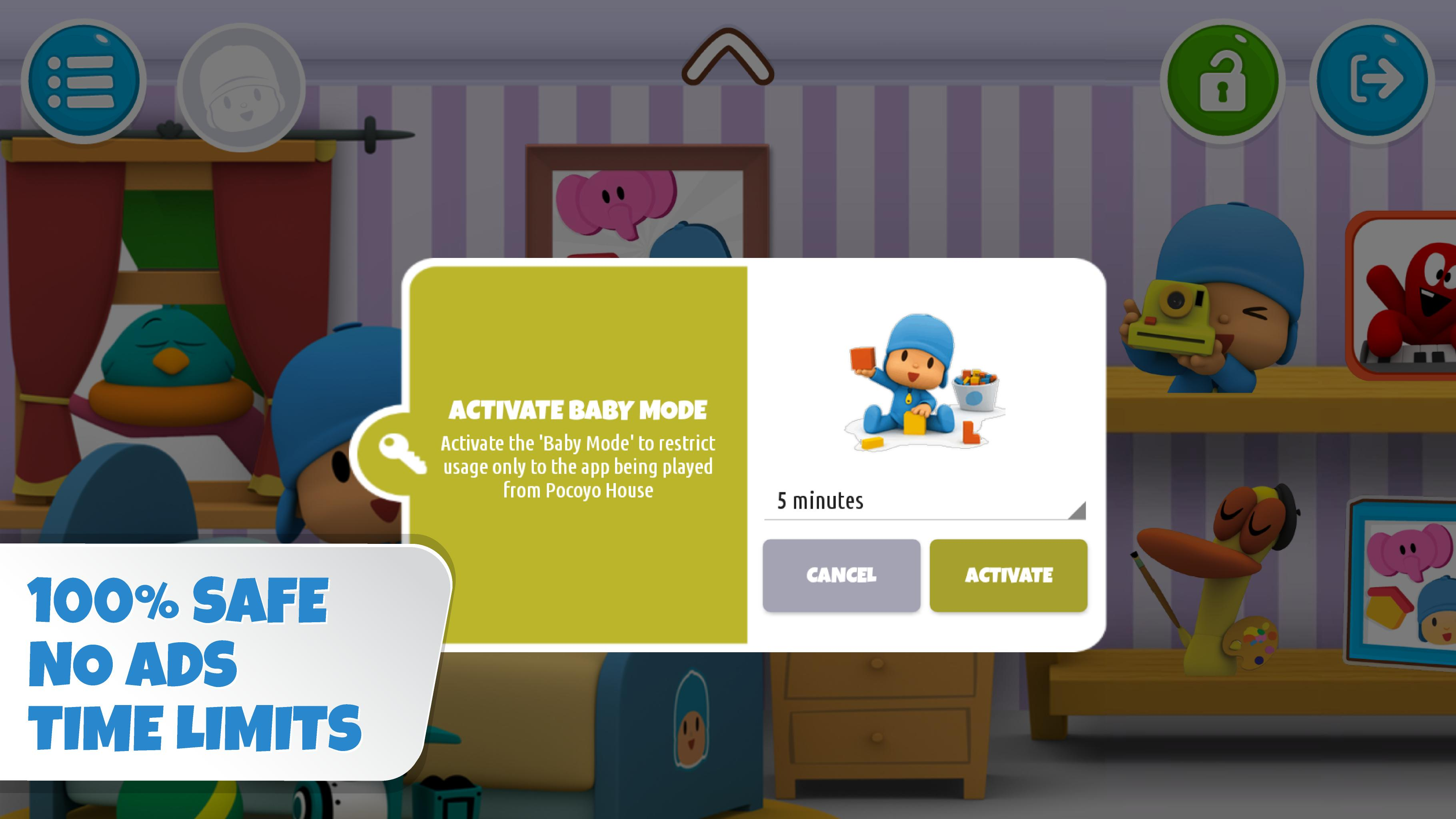 Pocoyo House best videos and apps for kids 3.1.3 Screenshot 13