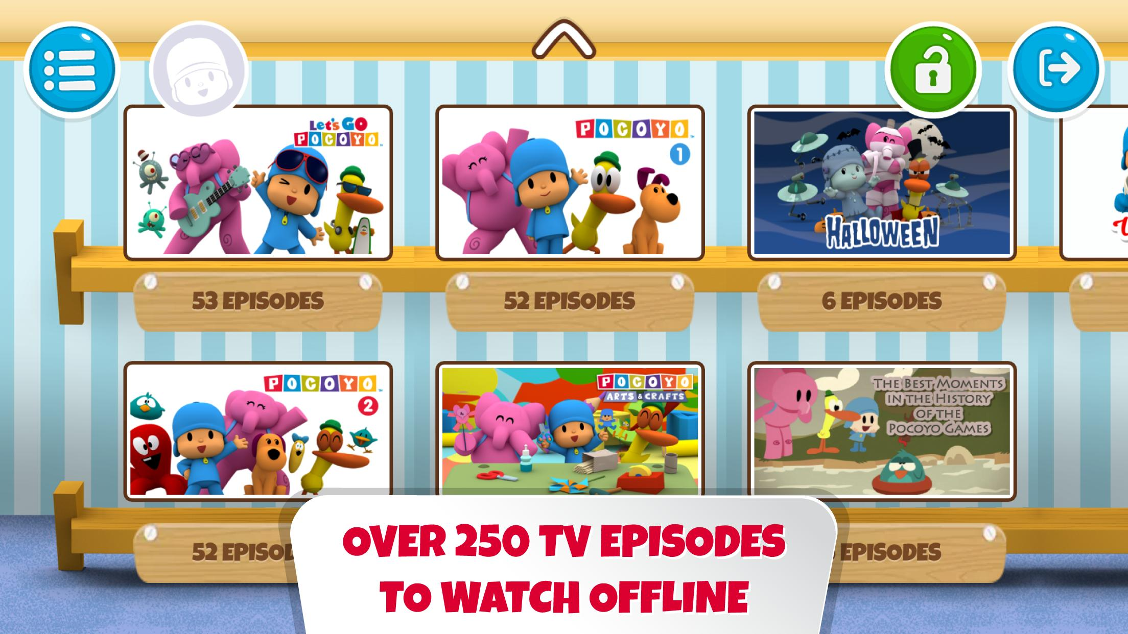 Pocoyo House best videos and apps for kids 3.1.3 Screenshot 2