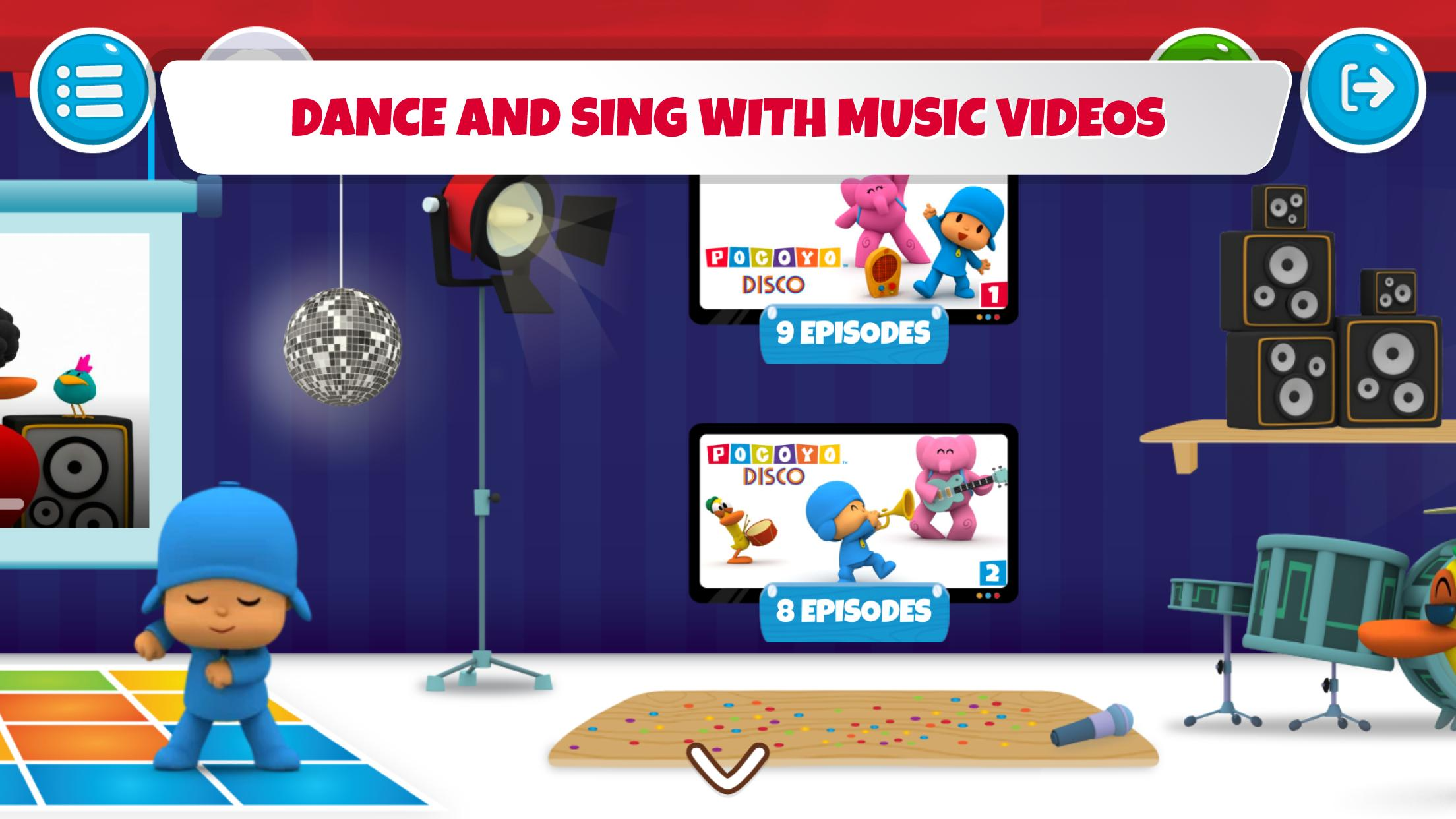 Pocoyo House best videos and apps for kids 3.1.3 Screenshot 3
