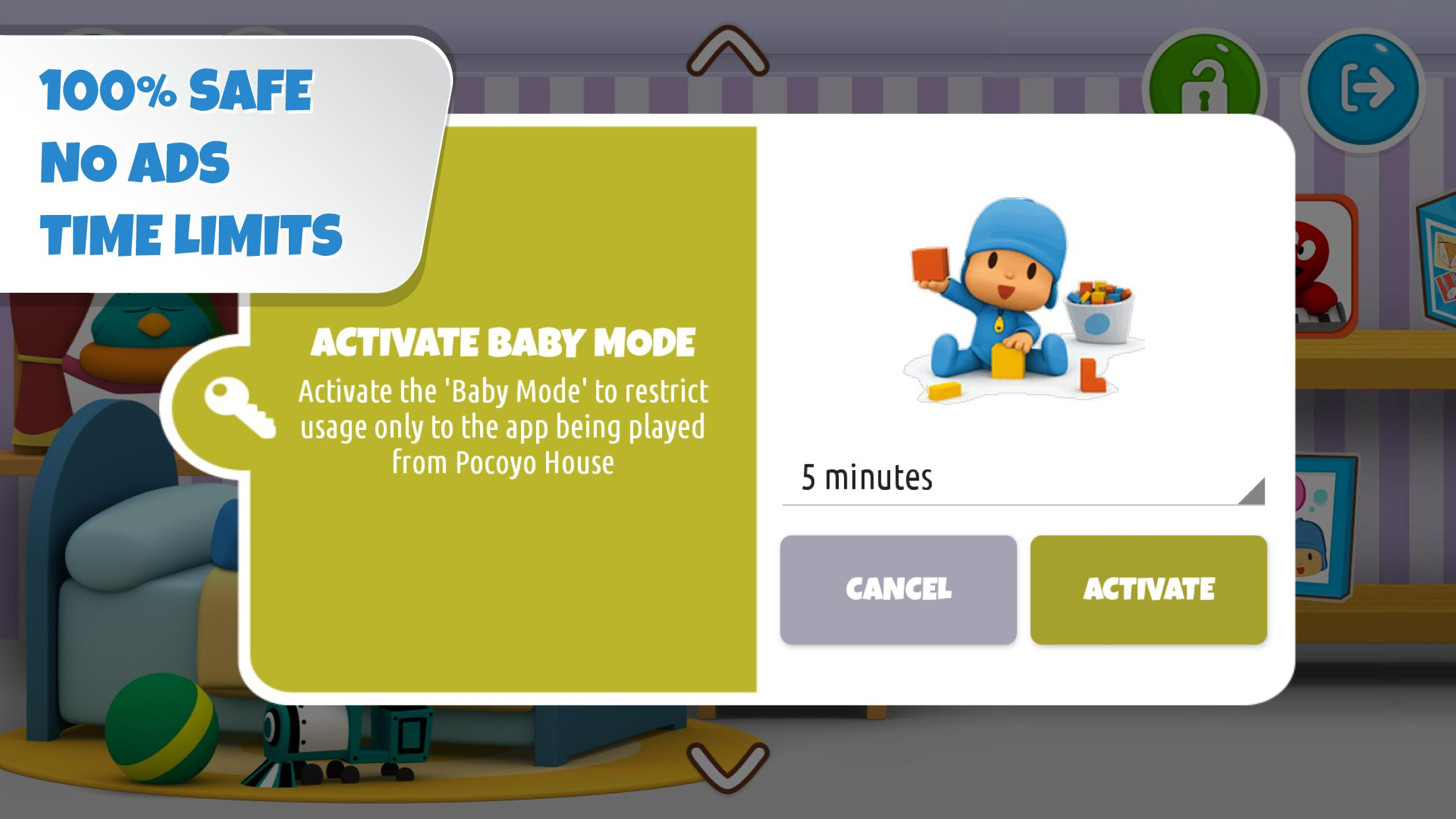 Pocoyo House best videos and apps for kids 3.1.3 Screenshot 5